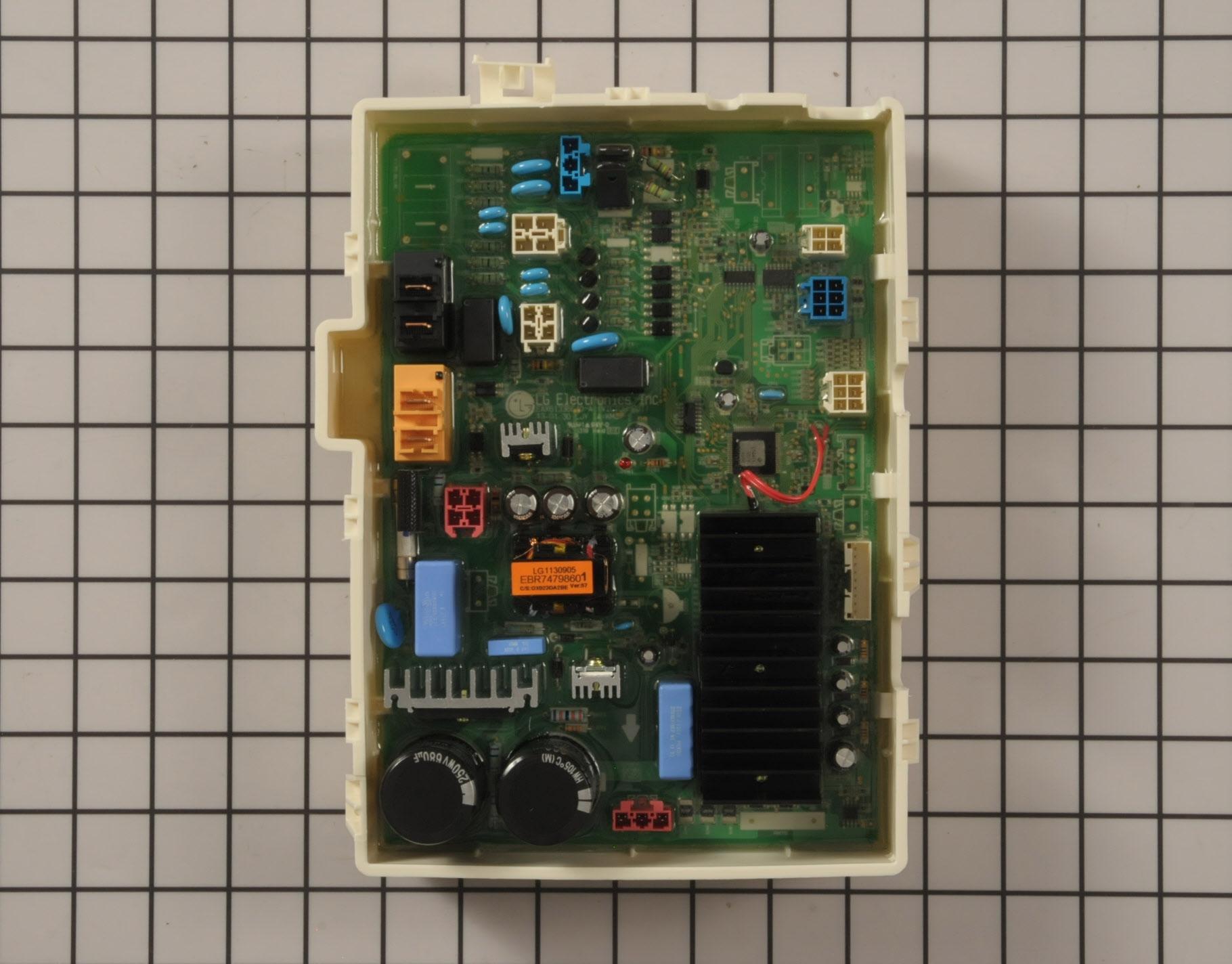 LG Washing Machine Part # EBR78263901 - Main Control Board