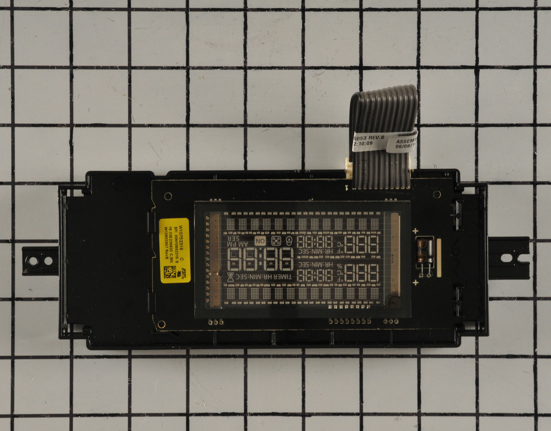 Whirlpool Microwave Part # WPW10752316 - Oven Control Board