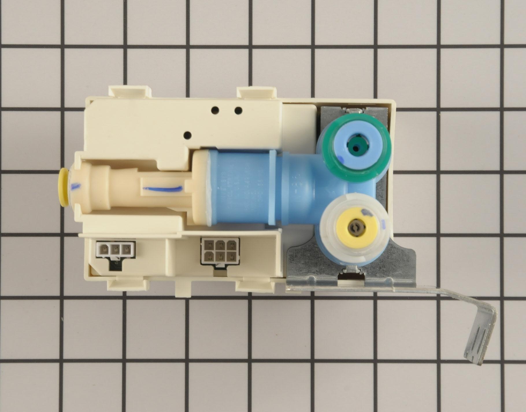 Whirlpool Refrigerator Part # WPW10159839 - Water Inlet Valve