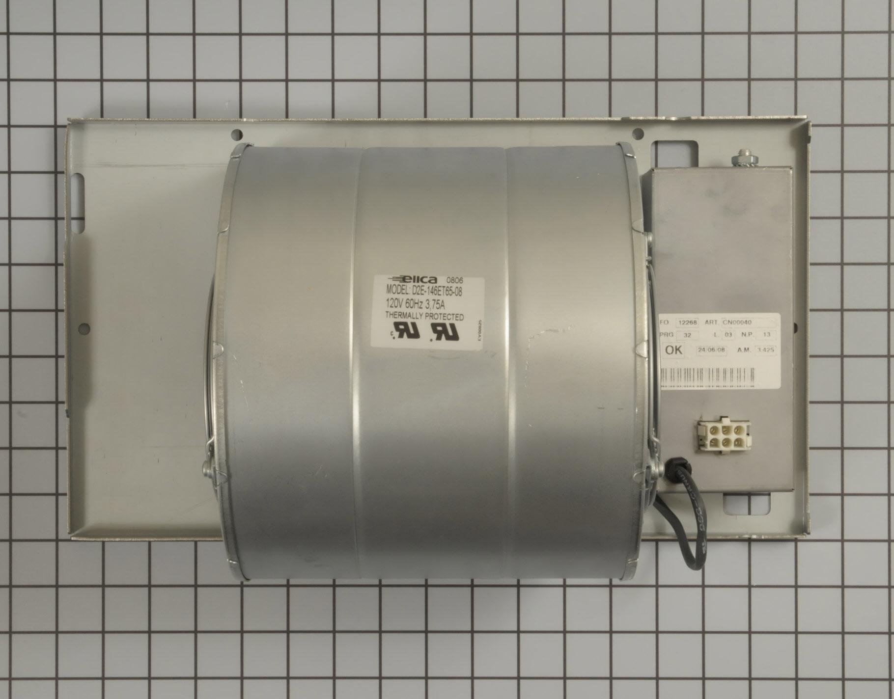 GE Range/Stove/Oven Part # WB38X10069 - Blower Motor