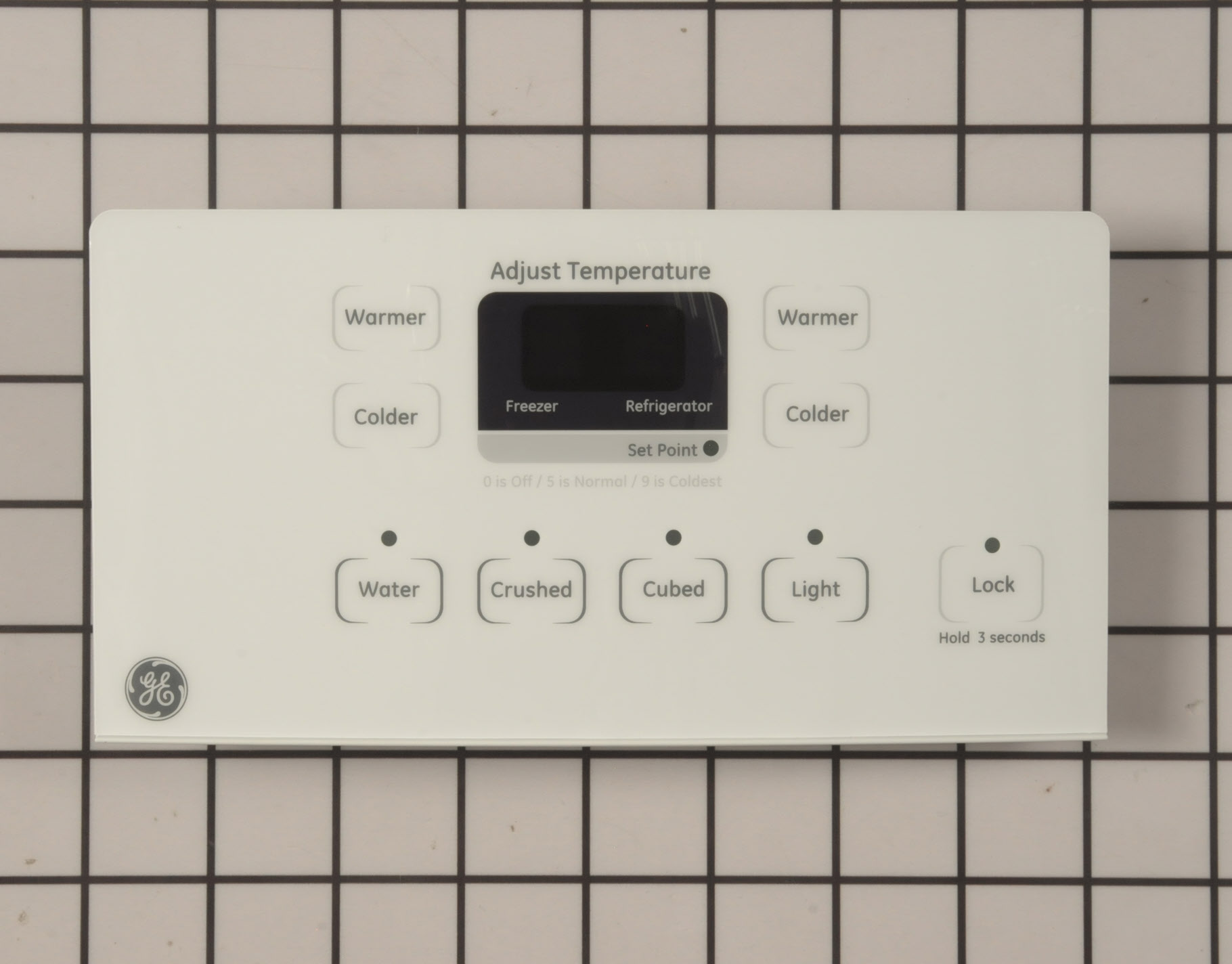 GE Refrigerator Part # WR55X23215 - Dispenser Control Board