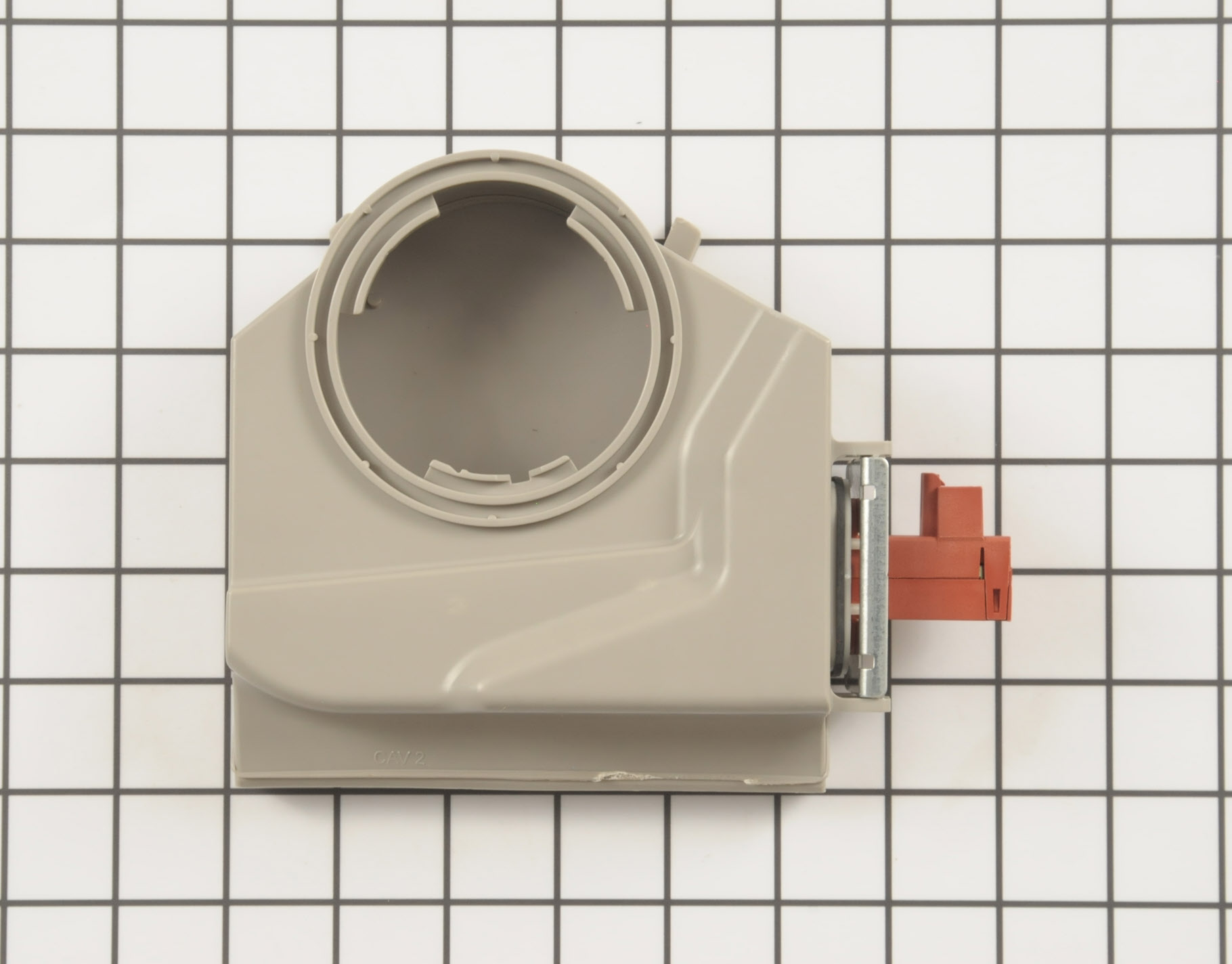 Kenmore Dishwasher Part # WP8572611 - Air Duct