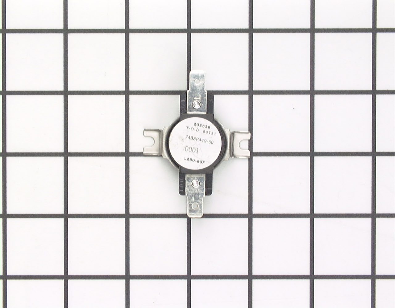 Kenmore Range/Stove/Oven Part # WP7403P899-60 - High Limit Thermostat