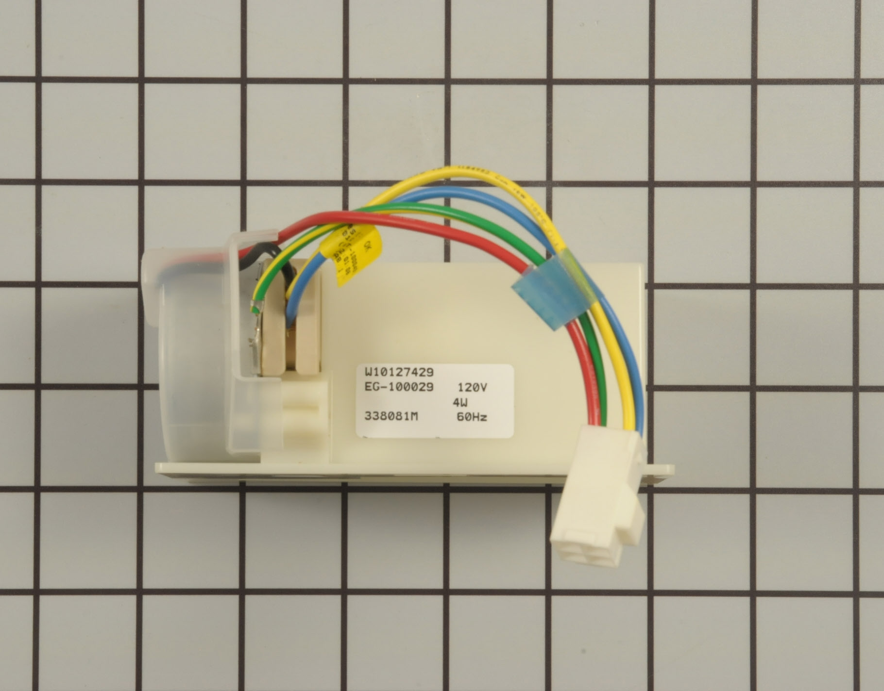 Kenmore Refrigerator Part # WPW10196393 - Damper Control Assembly
