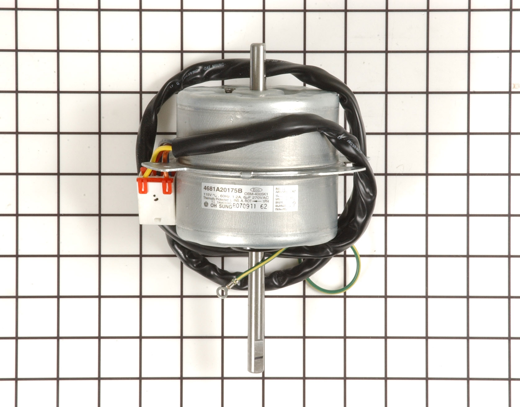 Kenmore Air Conditioner Part # 4681A20175B - Fan Motor