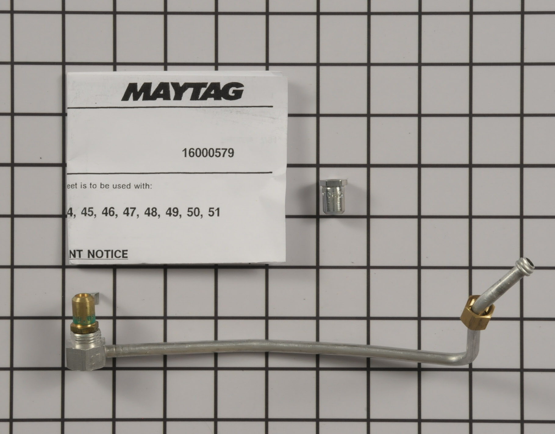 Maytag Range/Stove/Oven Part # 12200047 - Surface Burner Orifice Holder