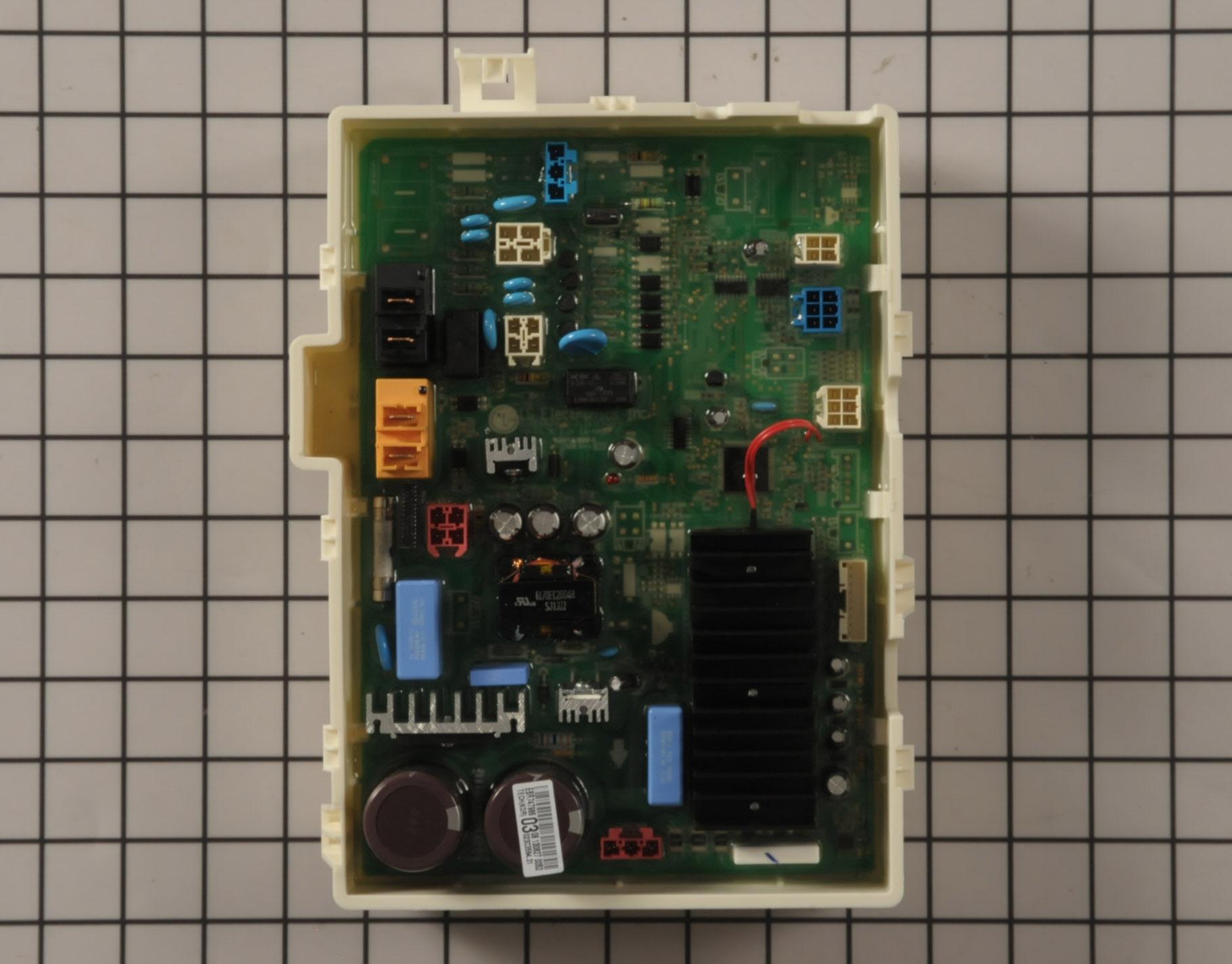 LG Washing Machine Part # EBR78263908 - Control Board