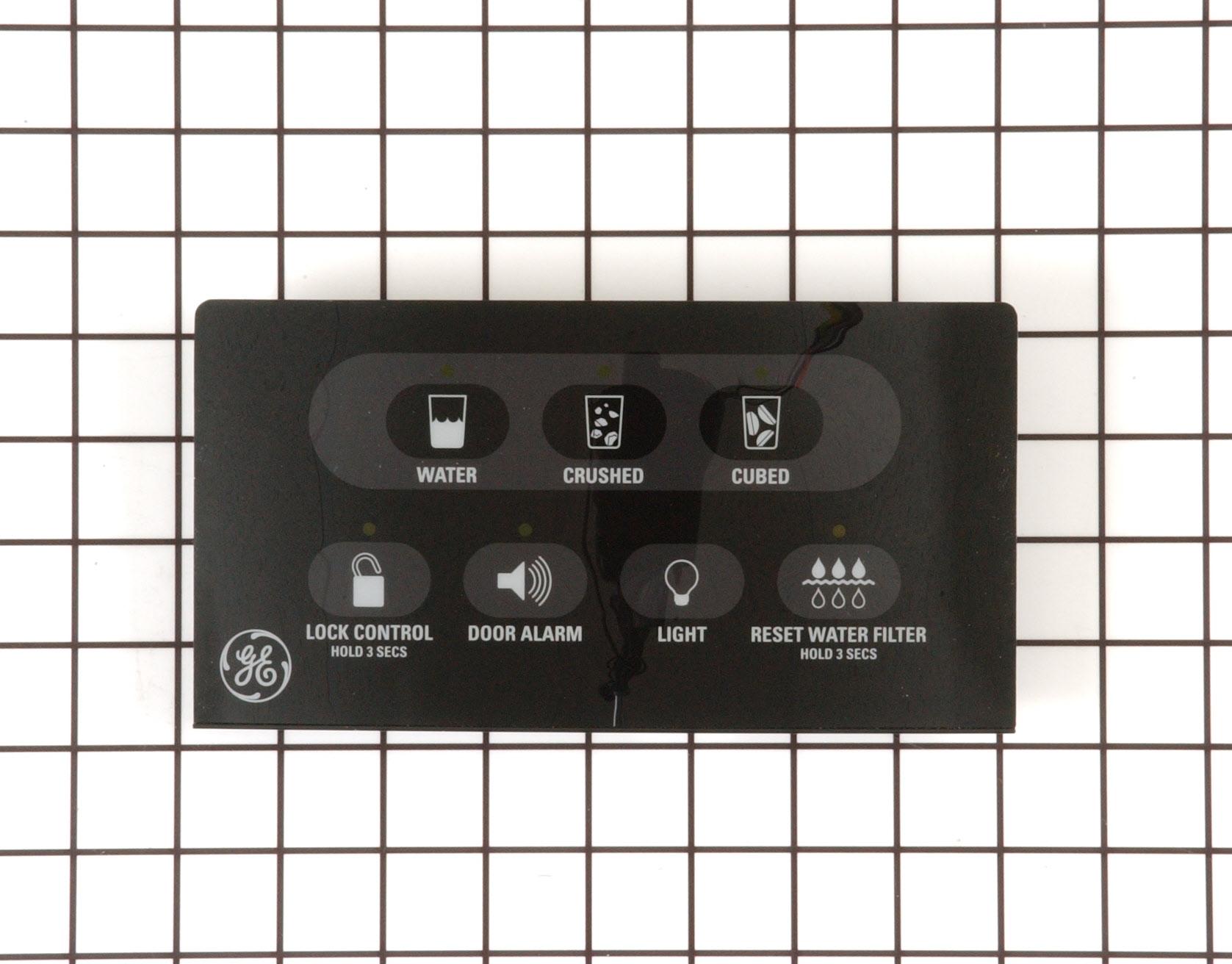 GE Refrigerator Part # WR55X10304 - Dispenser Control Board