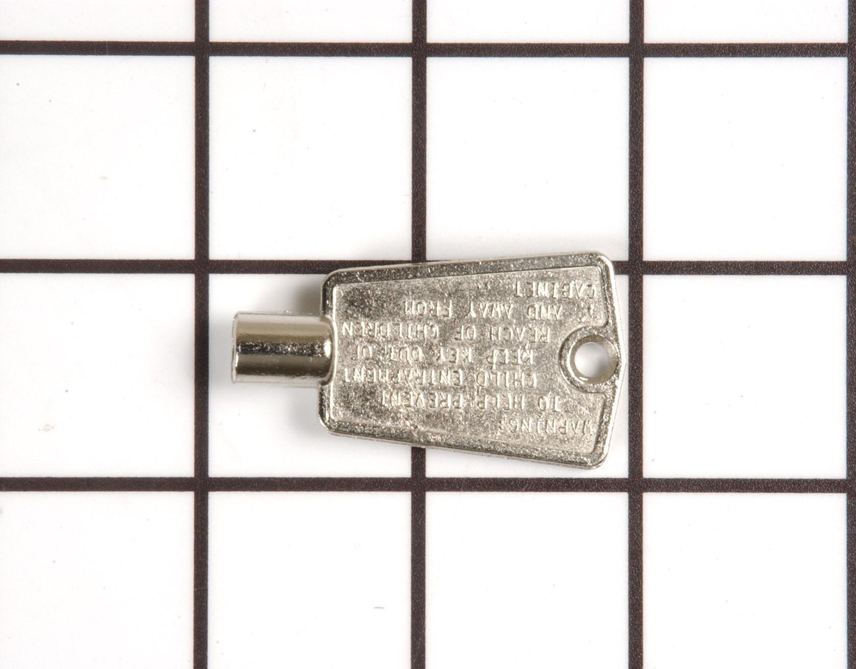 Maytag Freezer Part # WP4356840 - Door Key