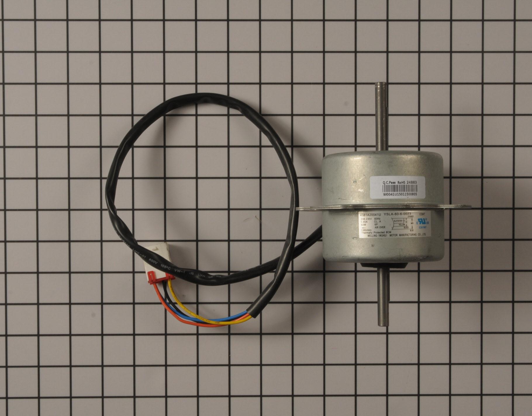 Kenmore Air Conditioner Part # 4681A20041U - Fan Motor