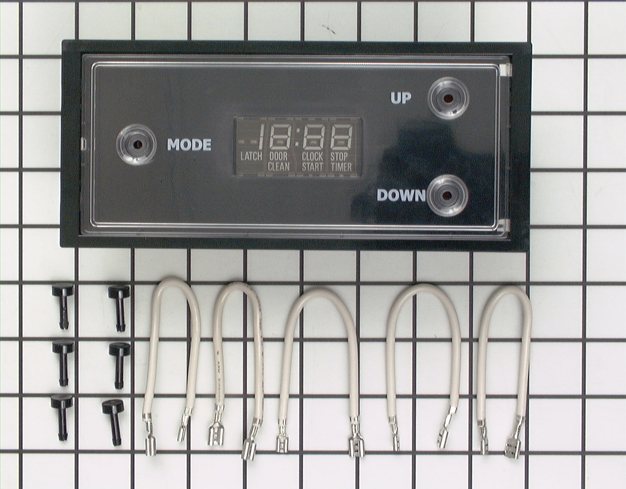 GE Range/Stove/Oven Part # WB19X10005 - Mechanical Clock and Timer