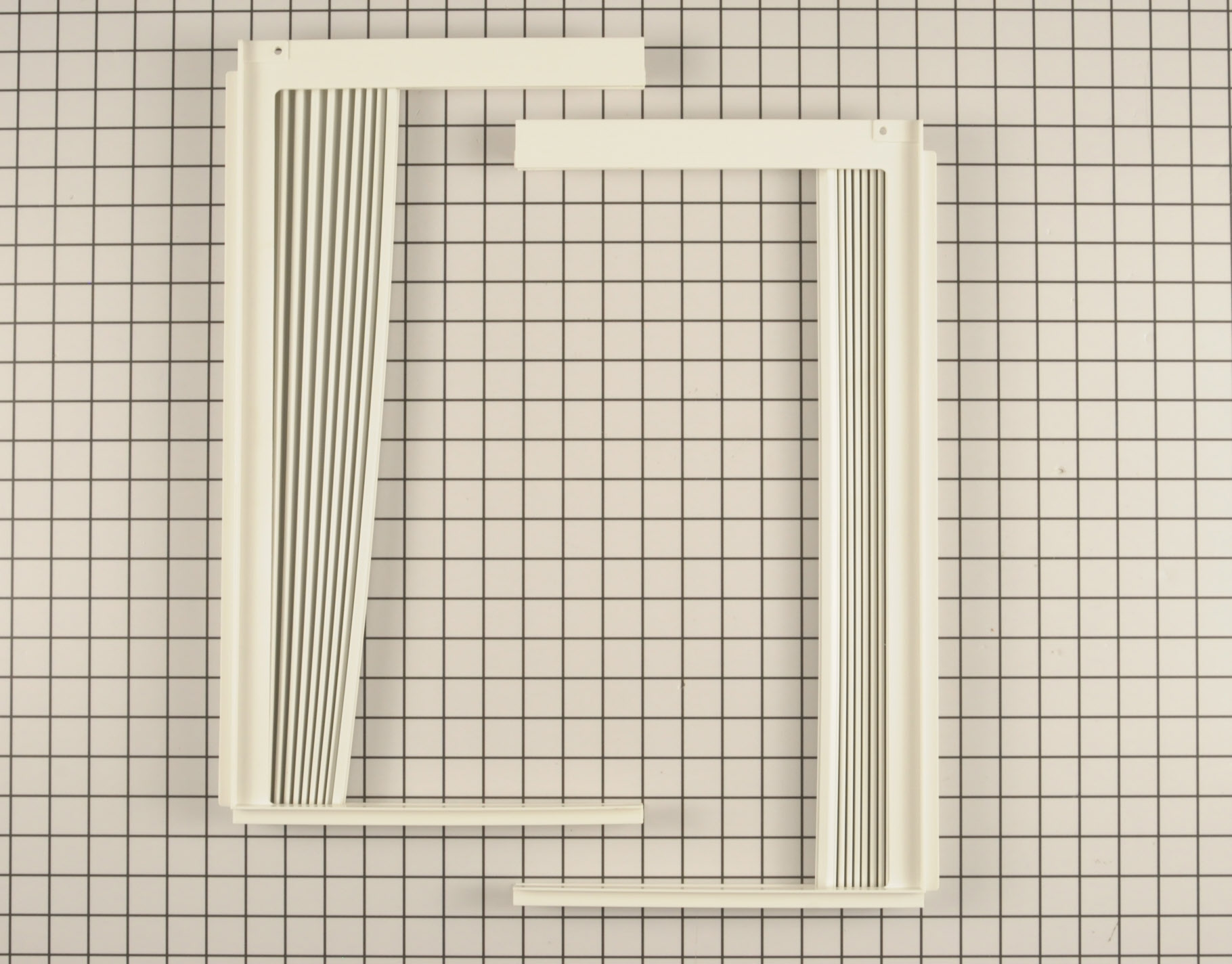 Kenmore Air Conditioner Part # 5304476334 - Window Side Curtain and Frame