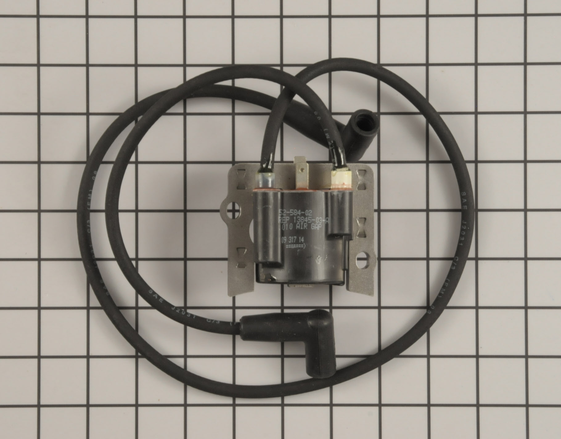 Exmark Lawn Mower Part # 52 584 02-S - Ignition Coil photo