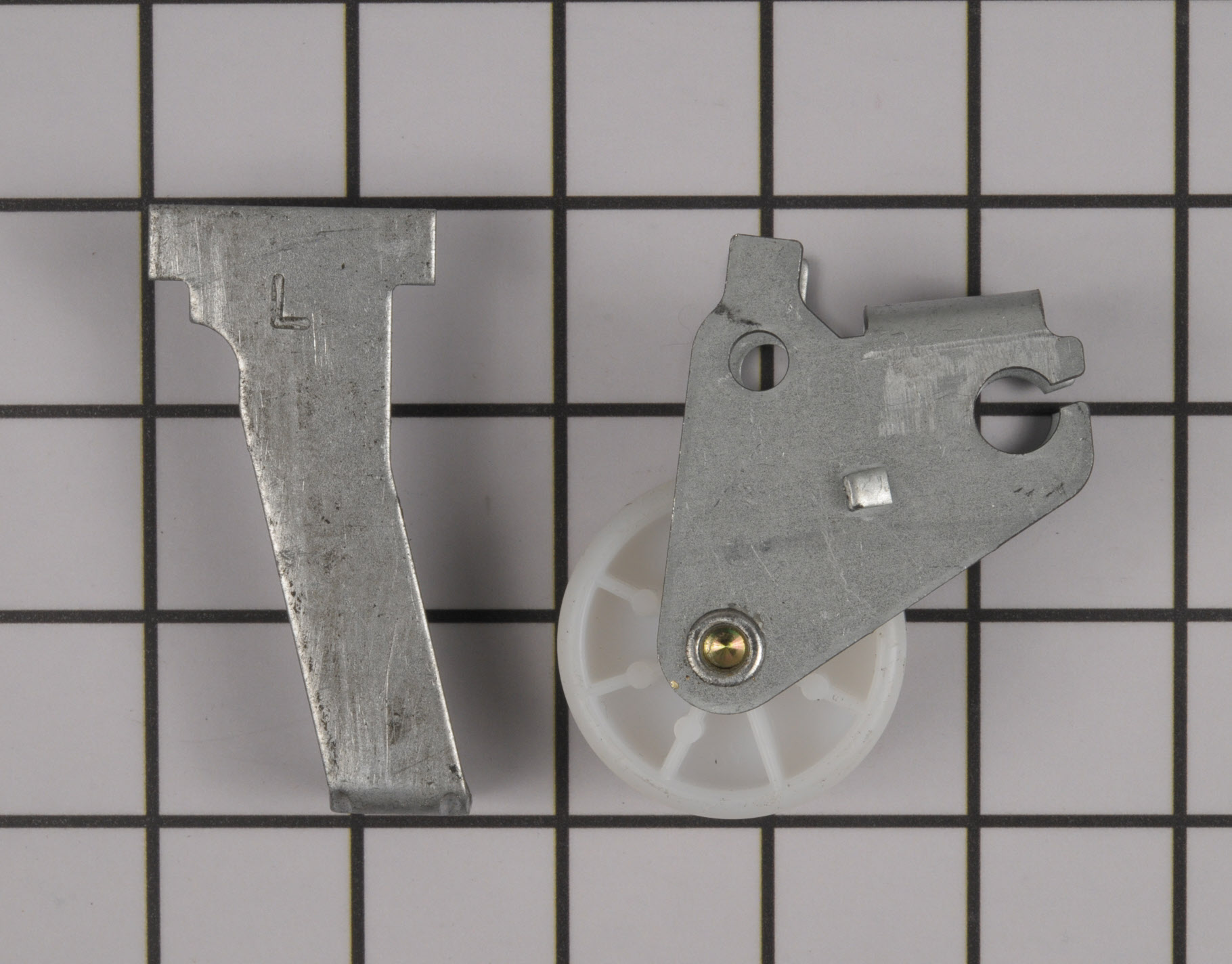 Kenmore Refrigerator Part # WPW10304659 - Wheel Assembly