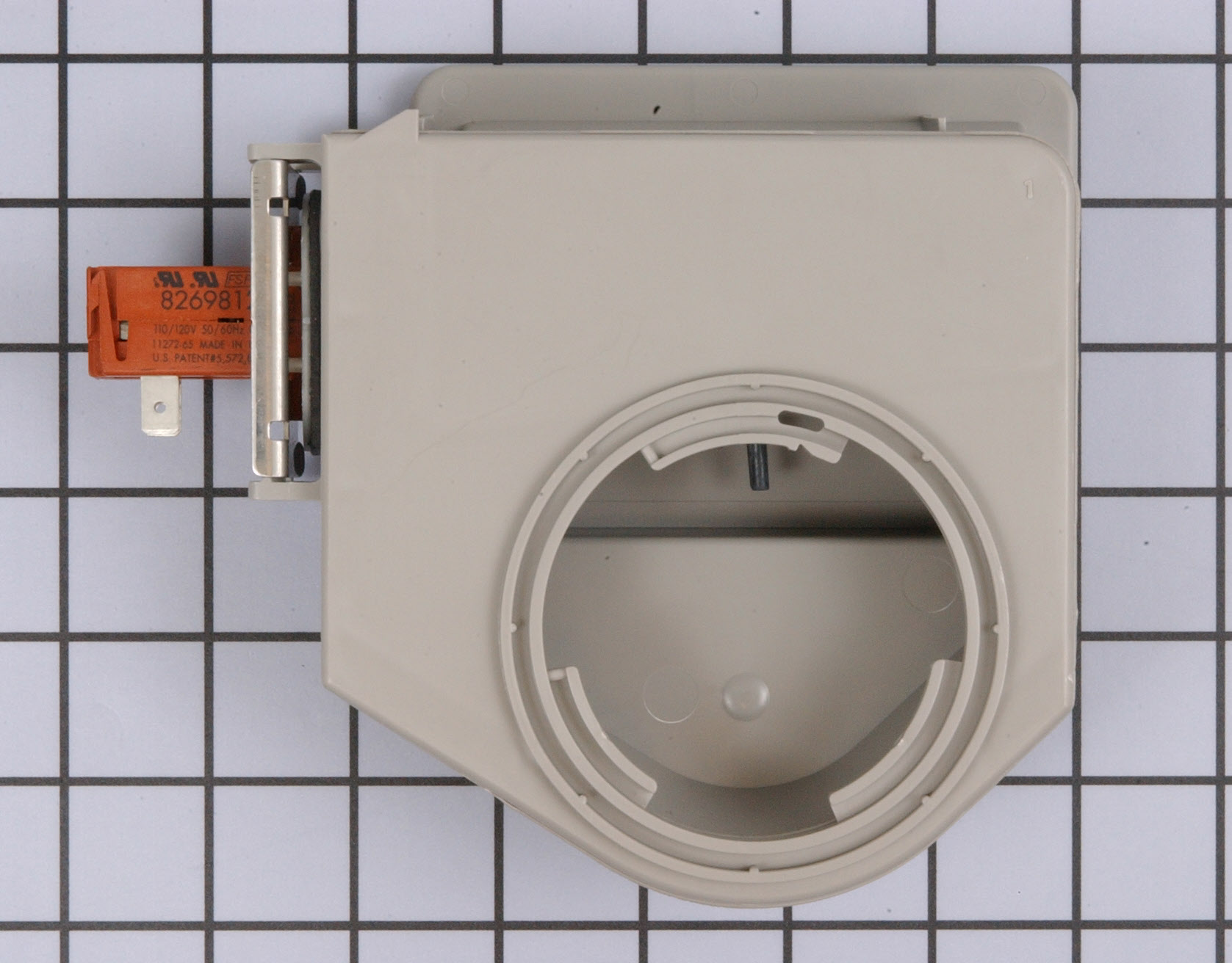 Kenmore Dishwasher Part # WP8545533 - Vent