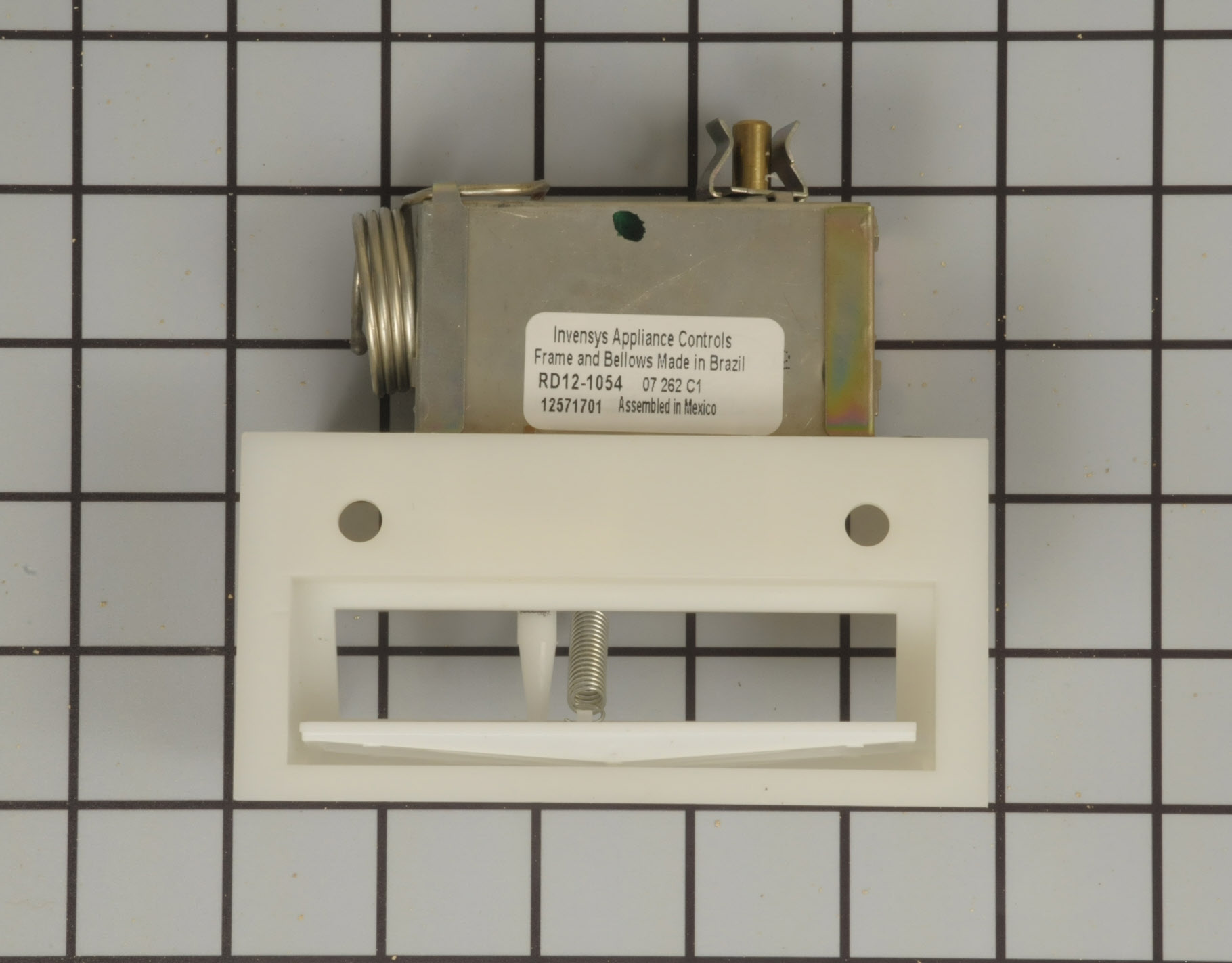 Kenmore Refrigerator Part # WP12571701 - Damper Control Assembly