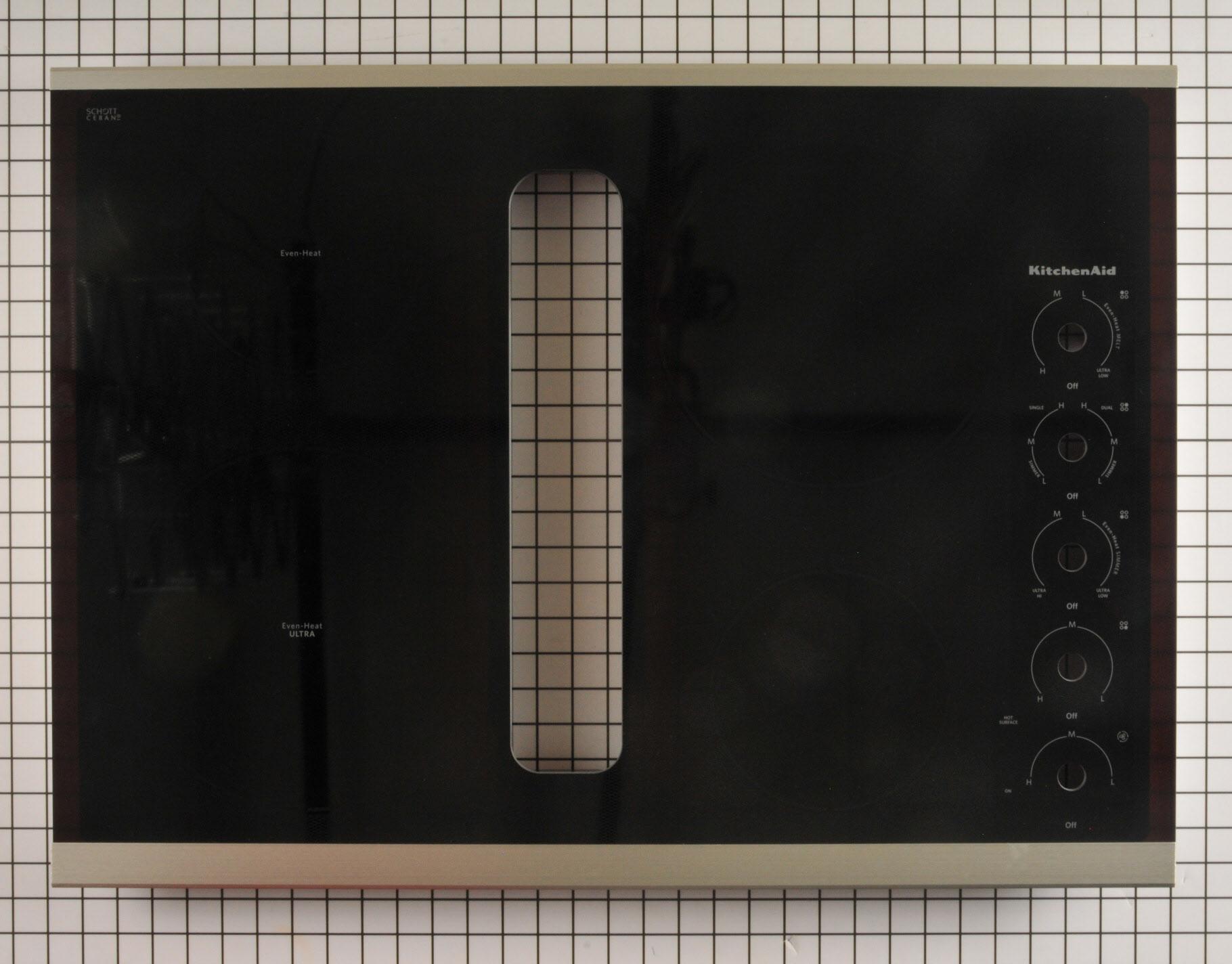 KitchenAid Range/Stove/Oven Part # W11051485 - Glass Main Top