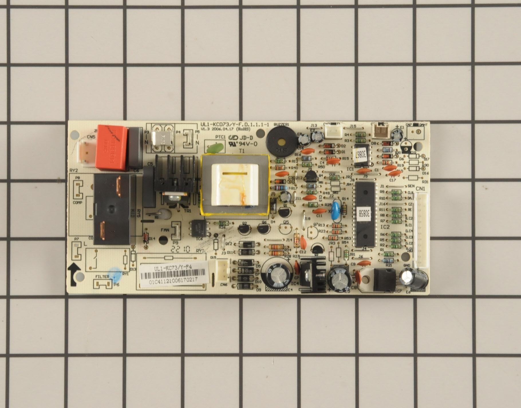 Frigidaire Air Conditioner Part # 5304455487 - Main Control Board