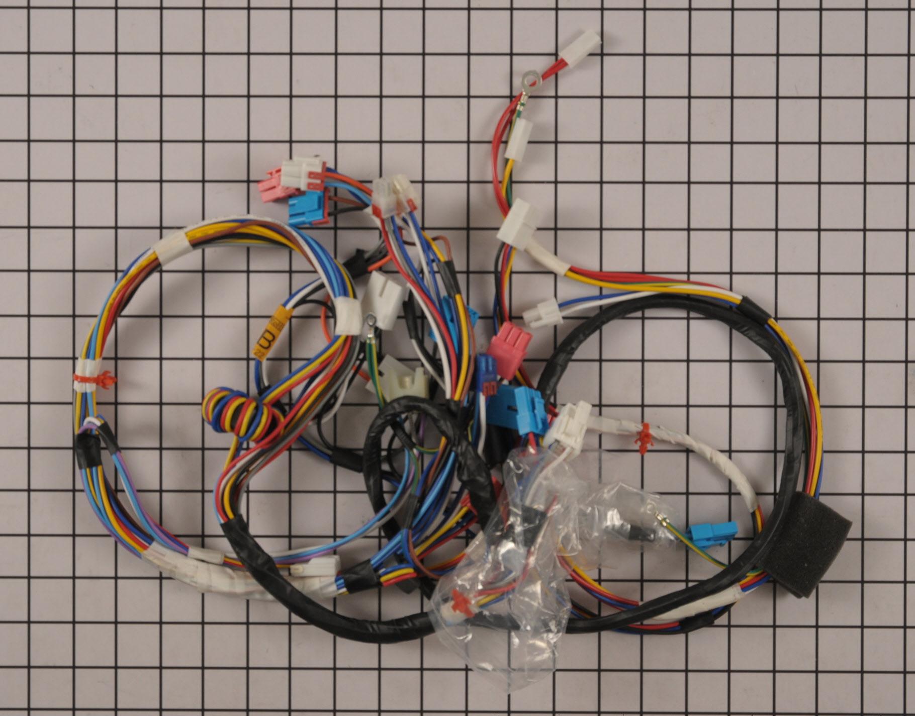 LG Washing Machine Part # 6877ER1015B - Wire Harness