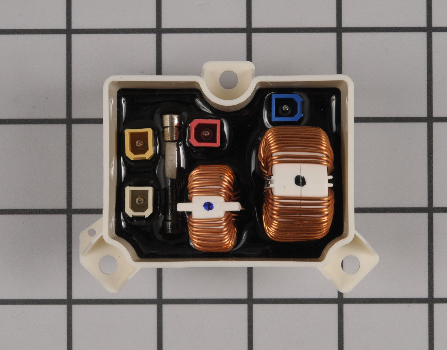 LG Washing Machine Part # 6201EC2002J - Noise Filter