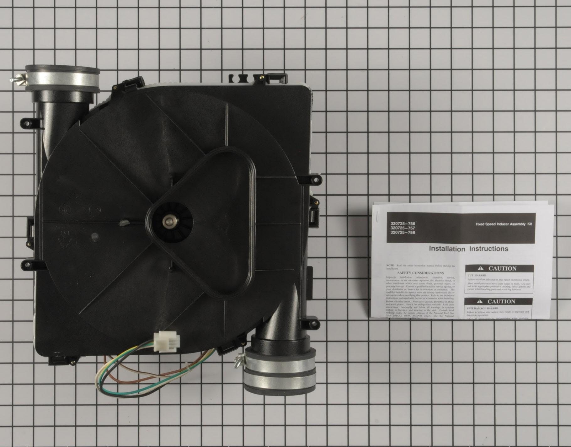 Carrier 320725 756 Furnace Part Draft Inducer Motor