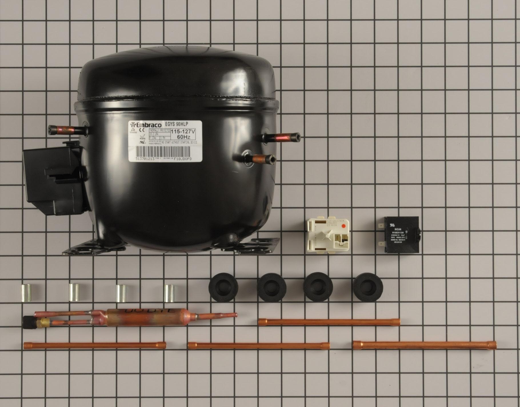 Kenmore Air Conditioner Part # W10309994 - Compressor