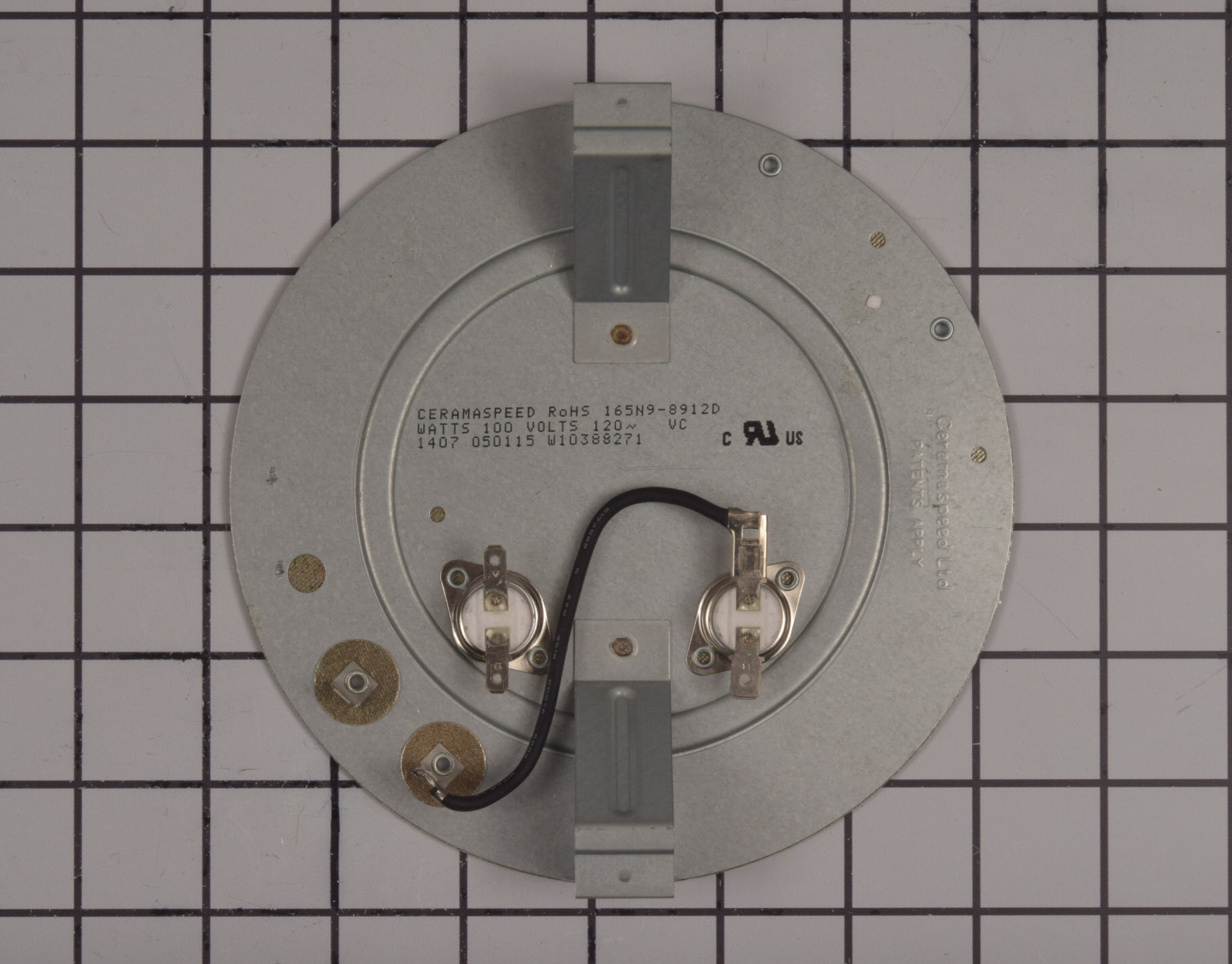 Whirlpool Range/Stove/Oven Part # W11047668 - Radiant Surface Element