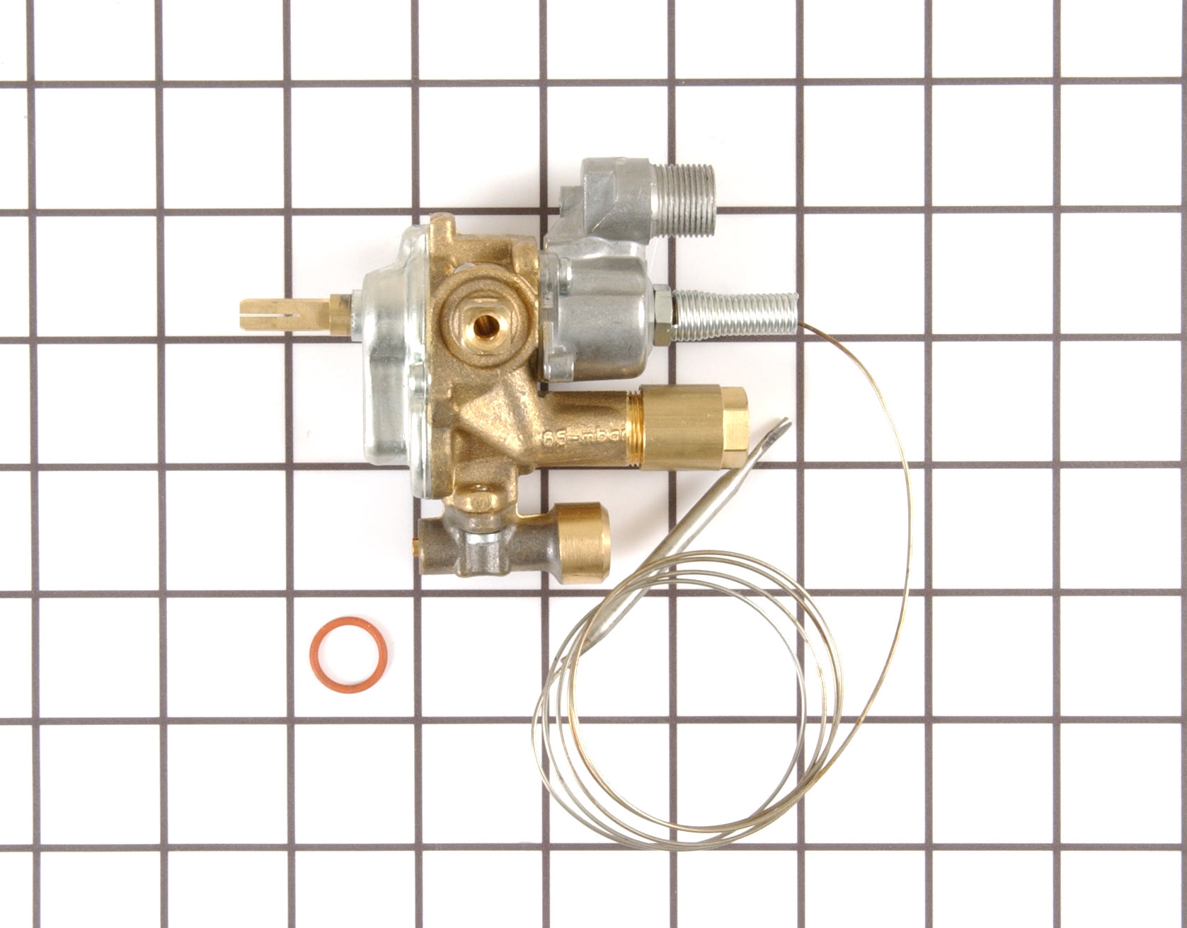 GE Range/Stove/Oven Part # WB20K10013 - Temperature Control Thermostat
