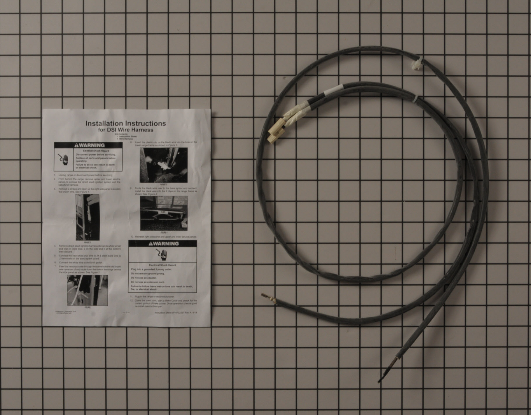 Maytag Range/Stove/Oven Part # WPW10701462 - Wire Harness