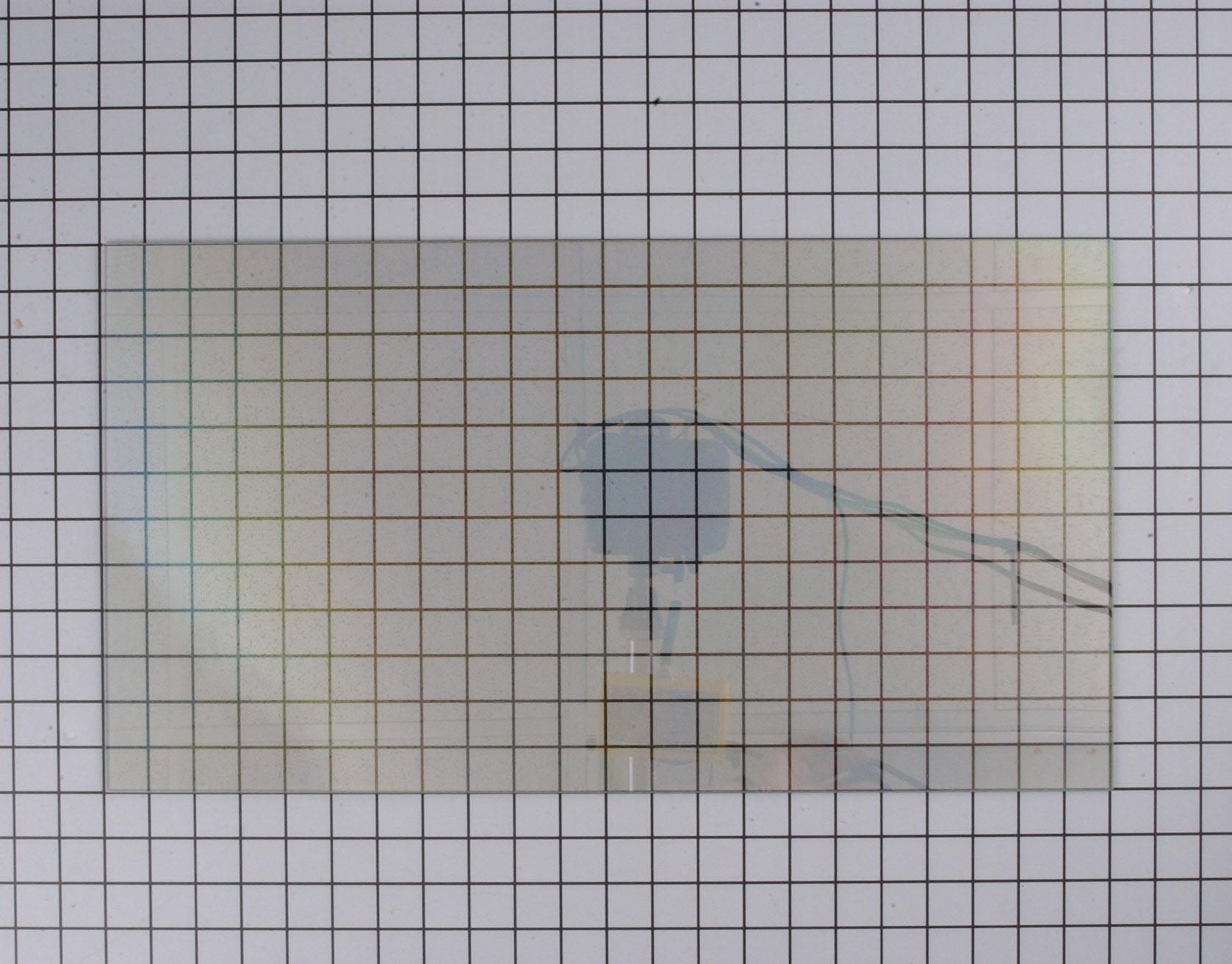 Whirlpool Range/Stove/Oven Part # WP4449263 - Inner Door Glass