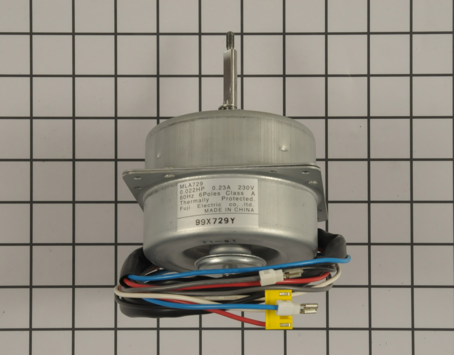 GE Air Conditioner Part # WP94X10041 - Blower Motor