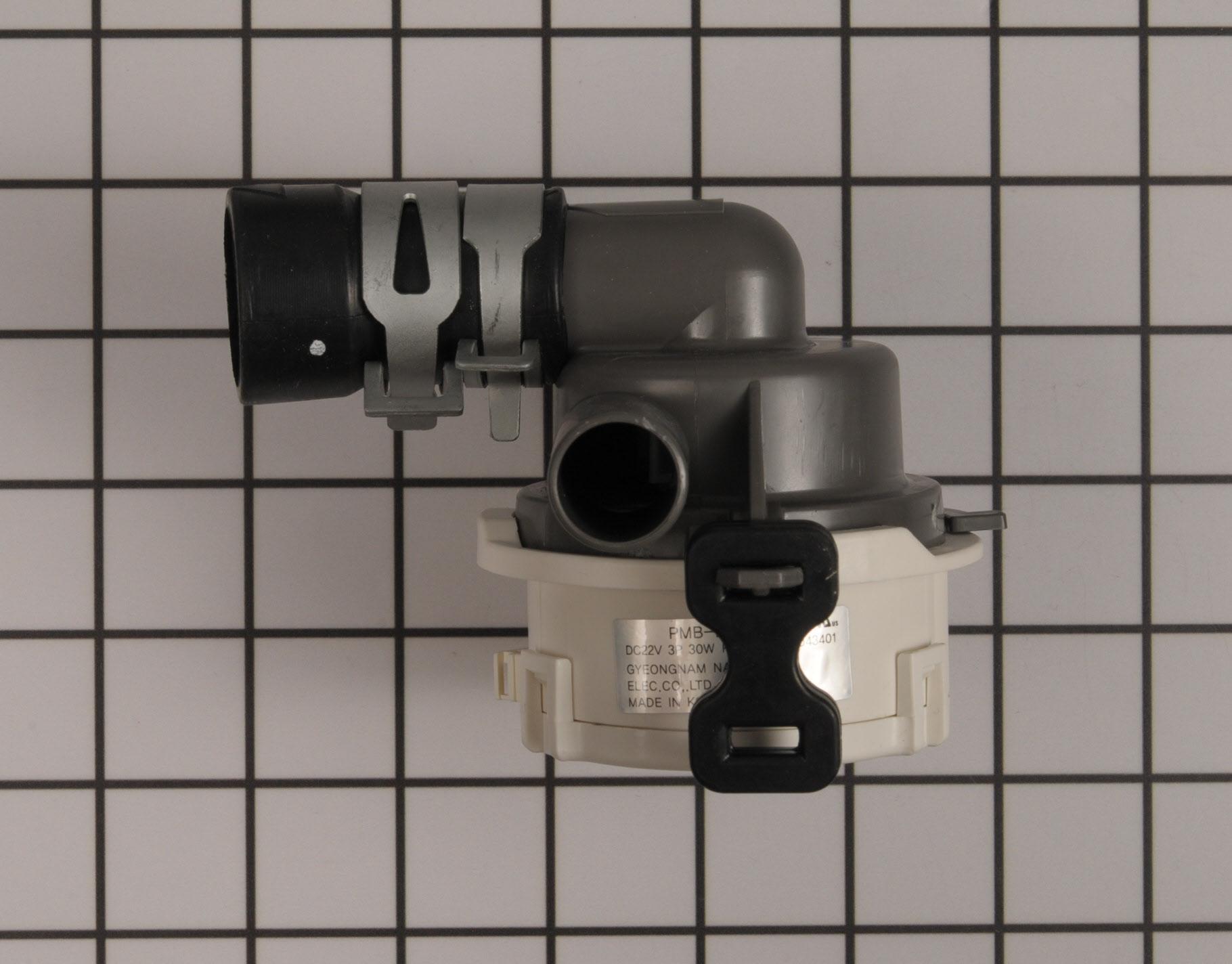LG Dishwasher Part # ABQ73503004 - Drain Pump