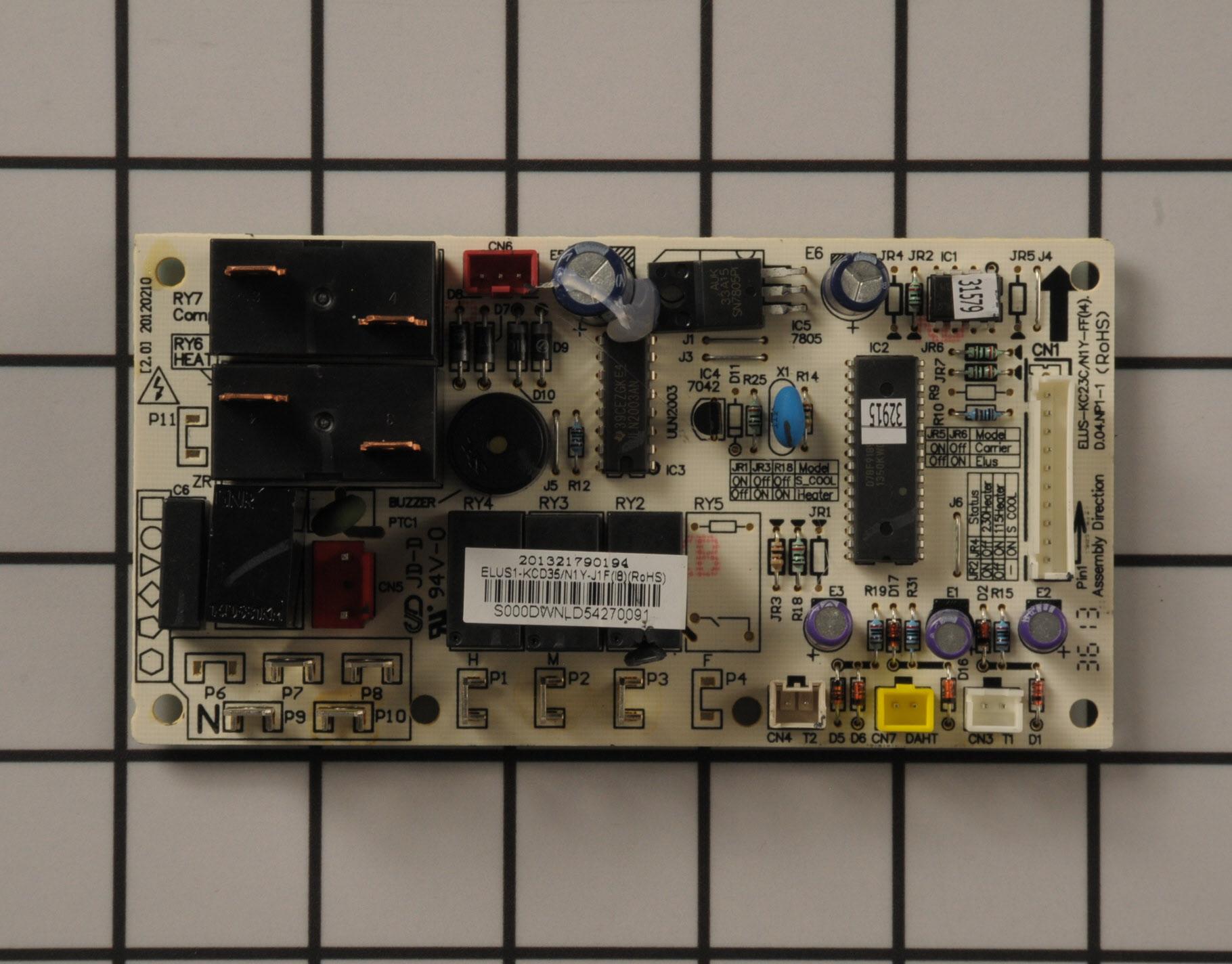 Kenmore Air Conditioner Part # 5304491882 - Control Board
