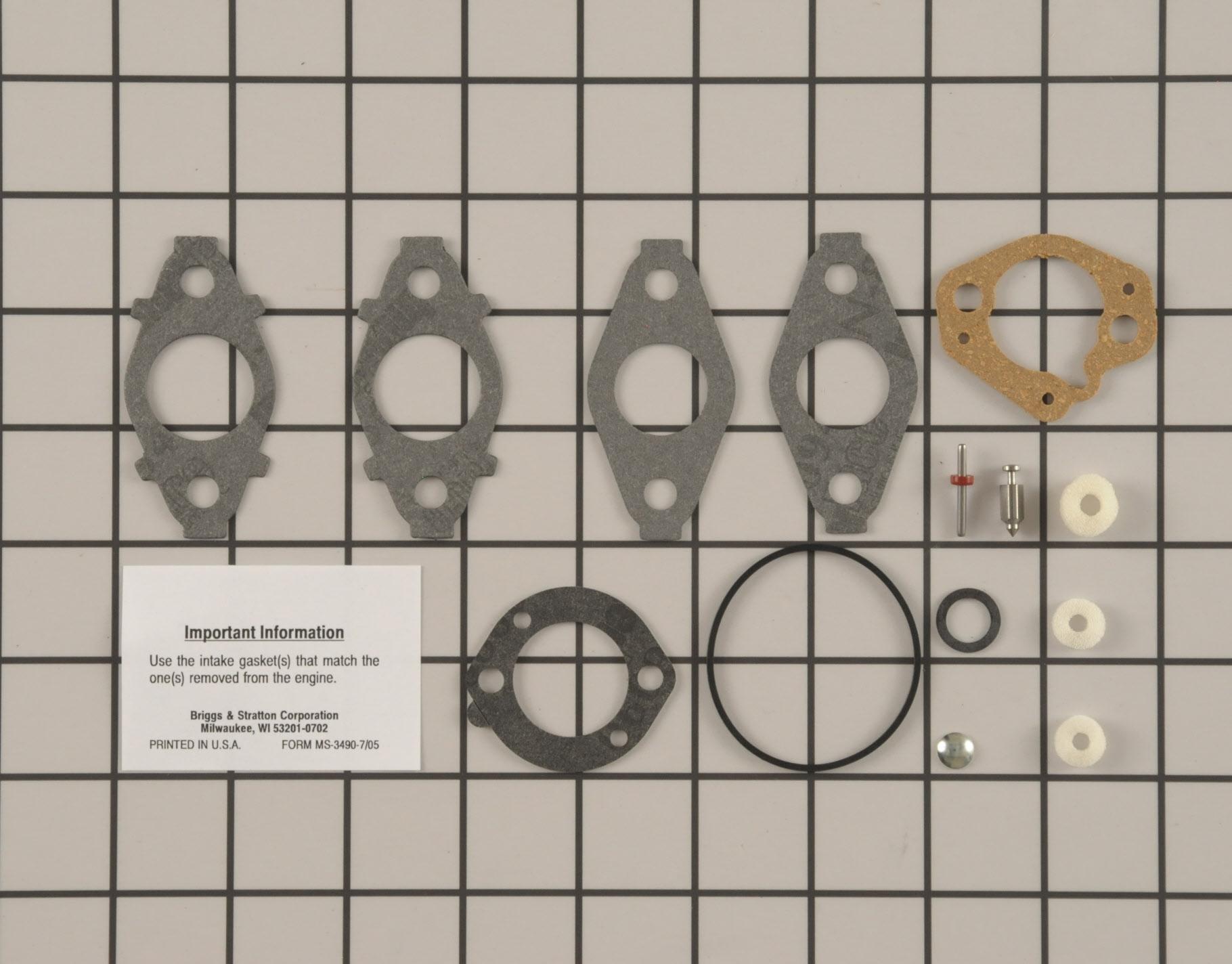 Toro Snowblower Part # 792006 - Carburetor Repair Kit