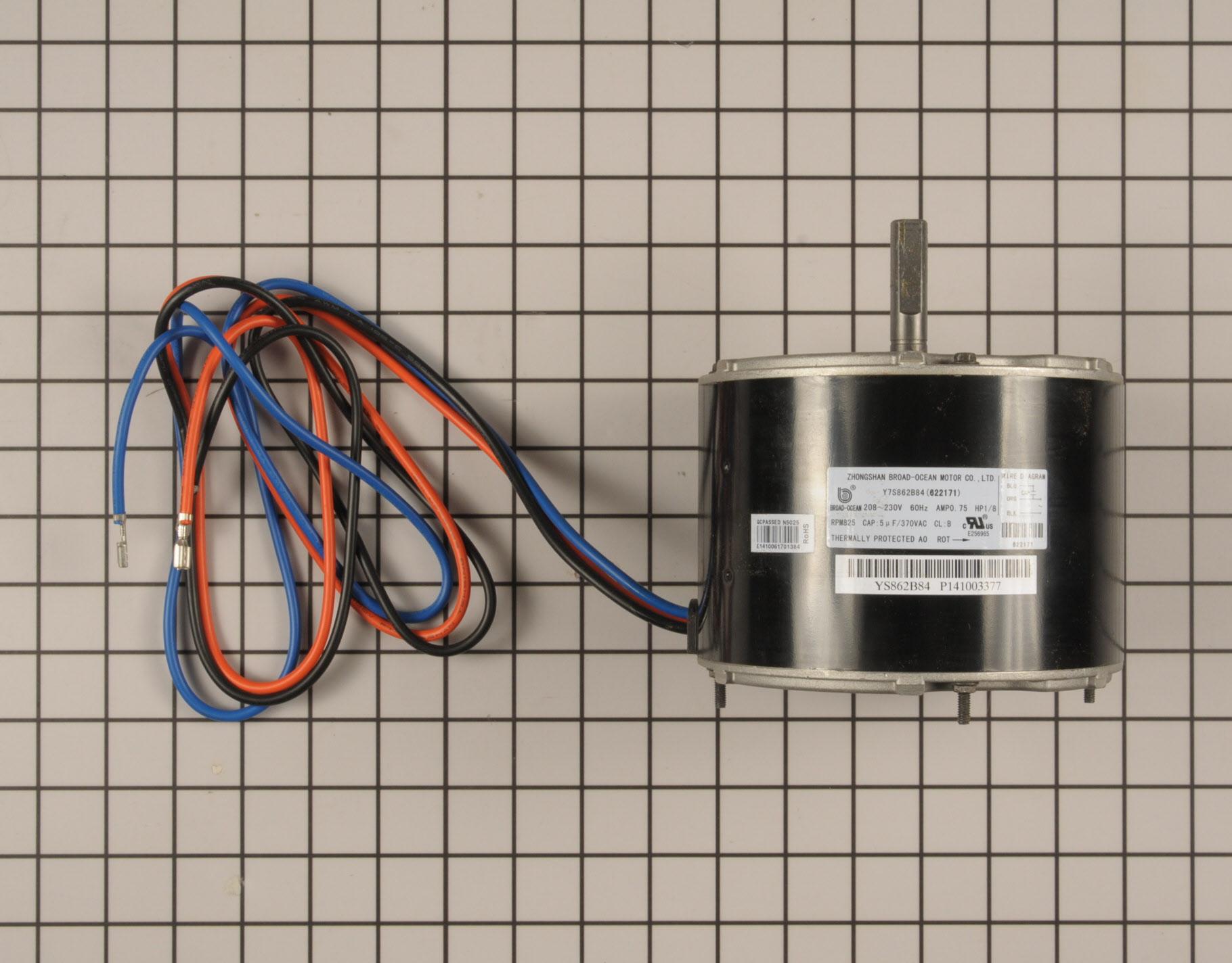Frigidaire Central Air Conditioner Part # 622171 - Condenser Fan Motor