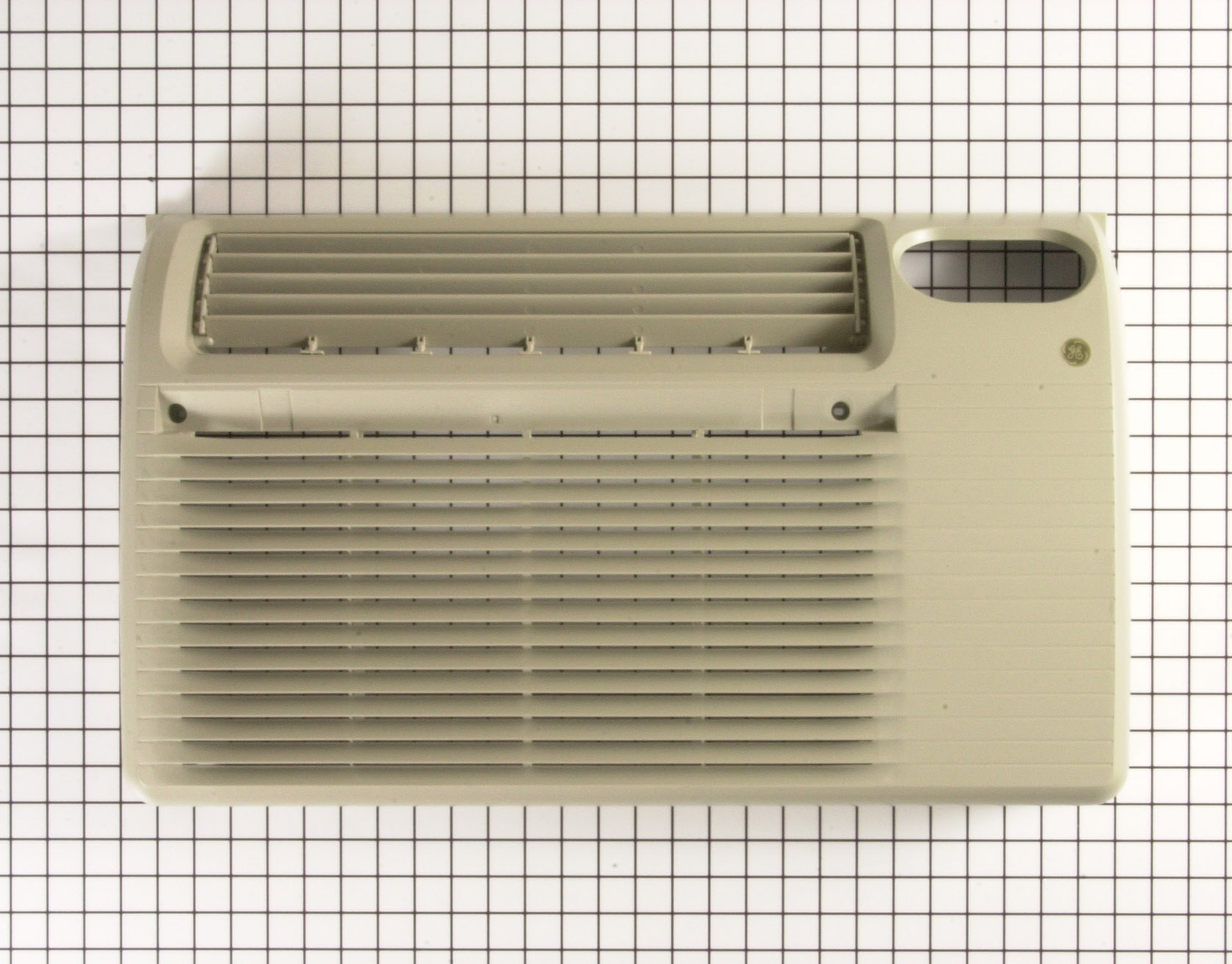 GE Air Conditioner Part # WJ71X10228 - Grille