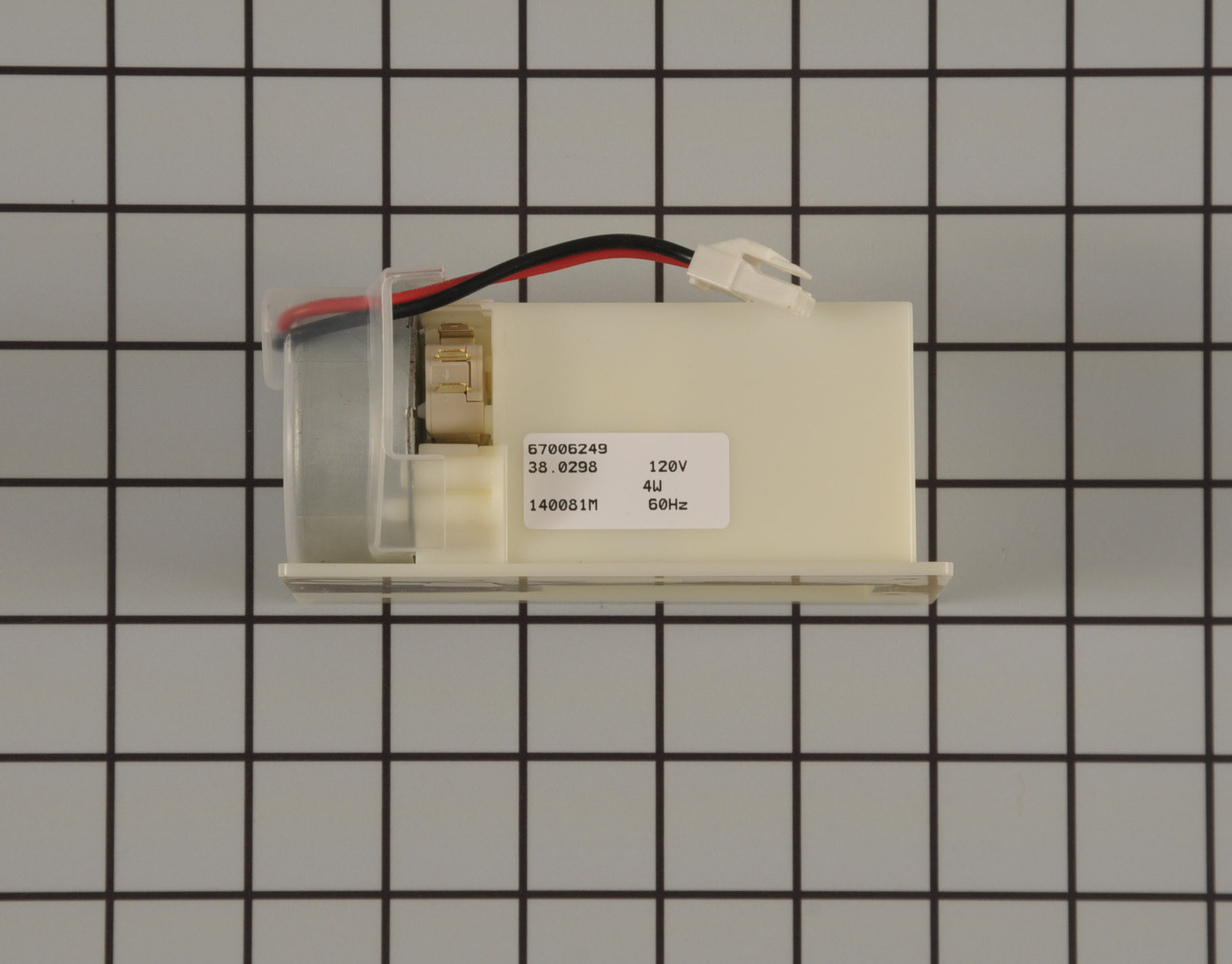 Kenmore Refrigerator Part # WP67006249 - Damper Control Assembly