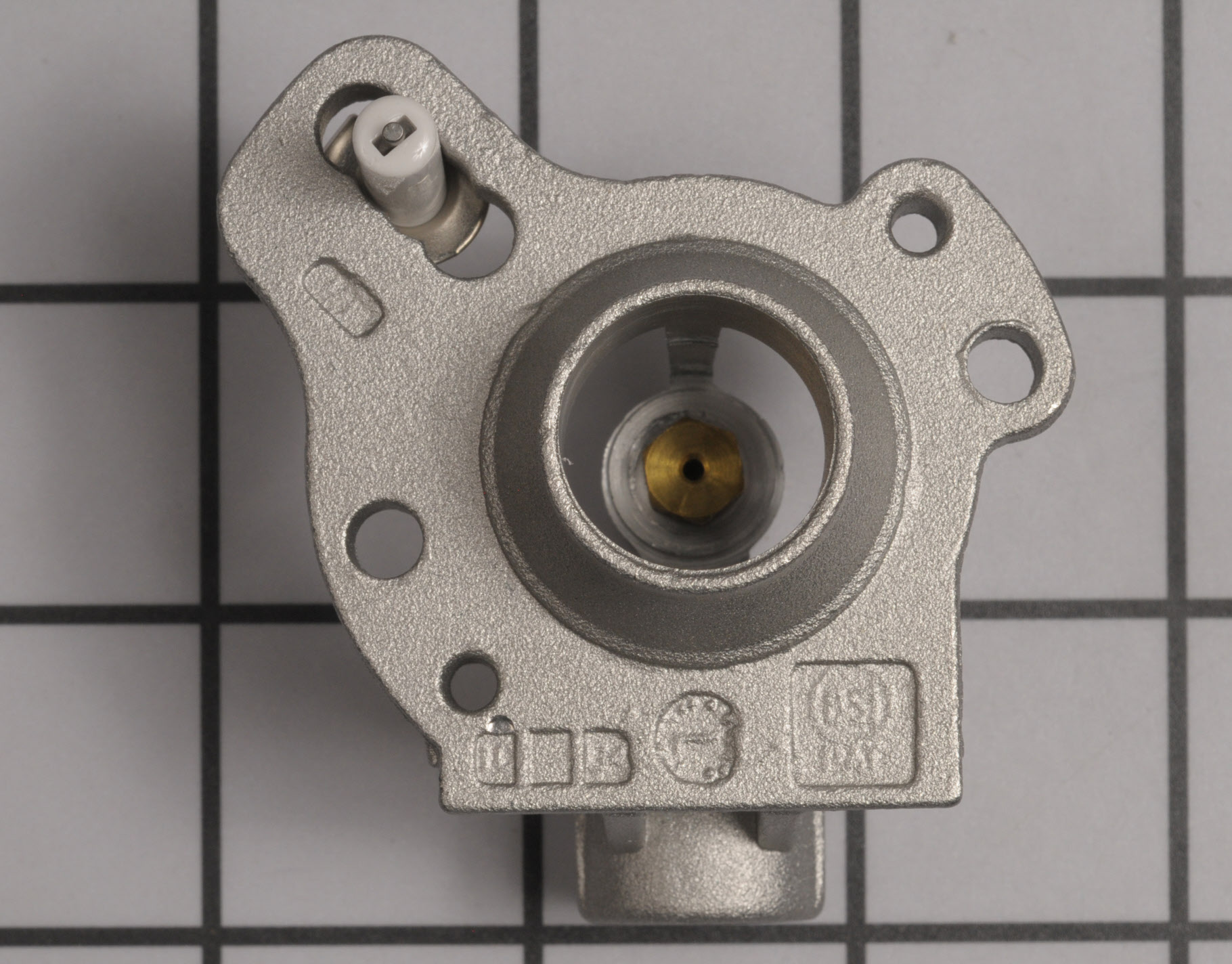 Whirlpool Range/Stove/Oven Part # WPW10128455 - Surface Burner Orifice Holder