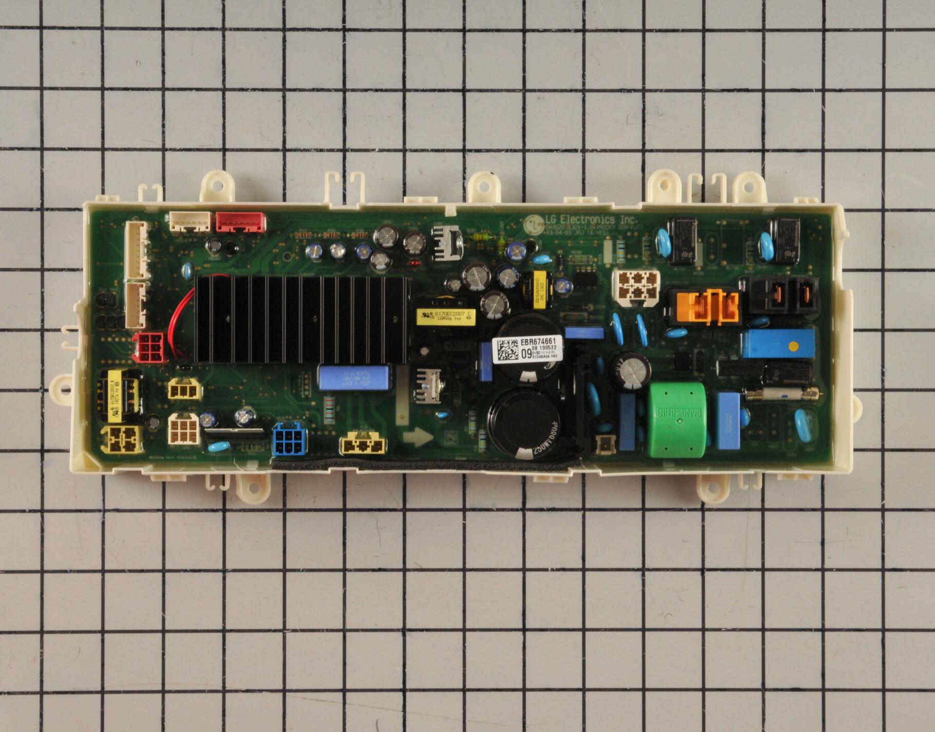 LG Washing Machine Part # EBR67466109 - Main Control Board