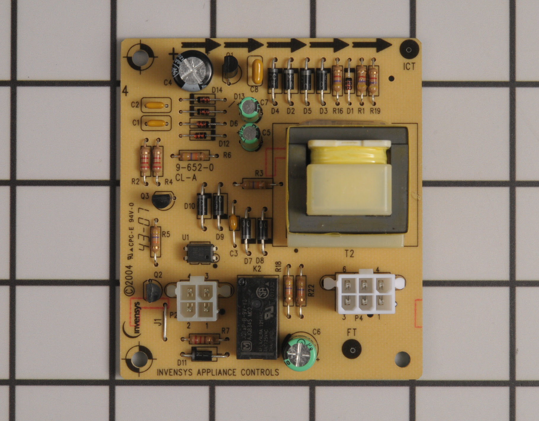Whirlpool Refrigerator Part # WP2300867 - Dispenser Control Board