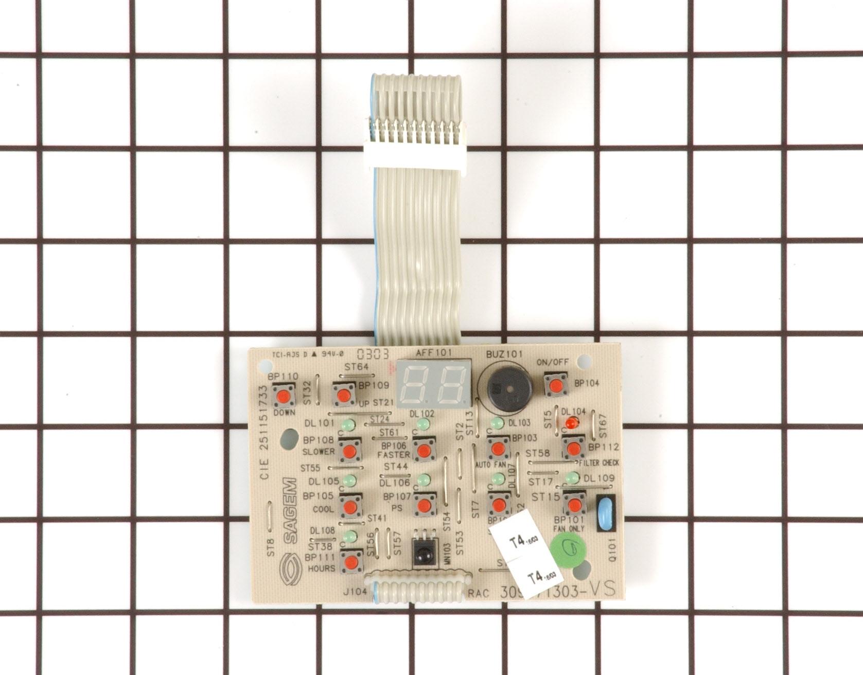 Kenmore Air Conditioner Part # 309371303 - Control Board