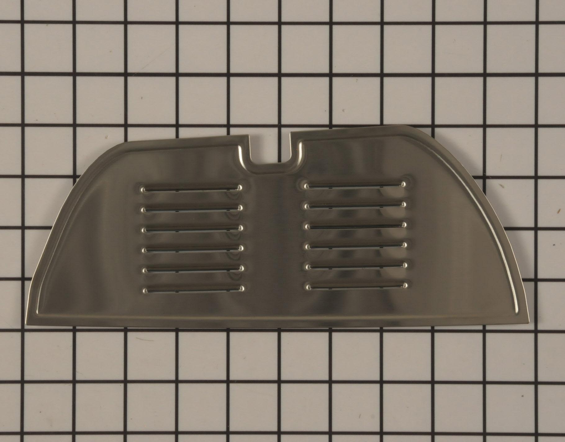 Refrigerator Part #  - Grille - Genuine OEM Part - KitchenAid W10215957