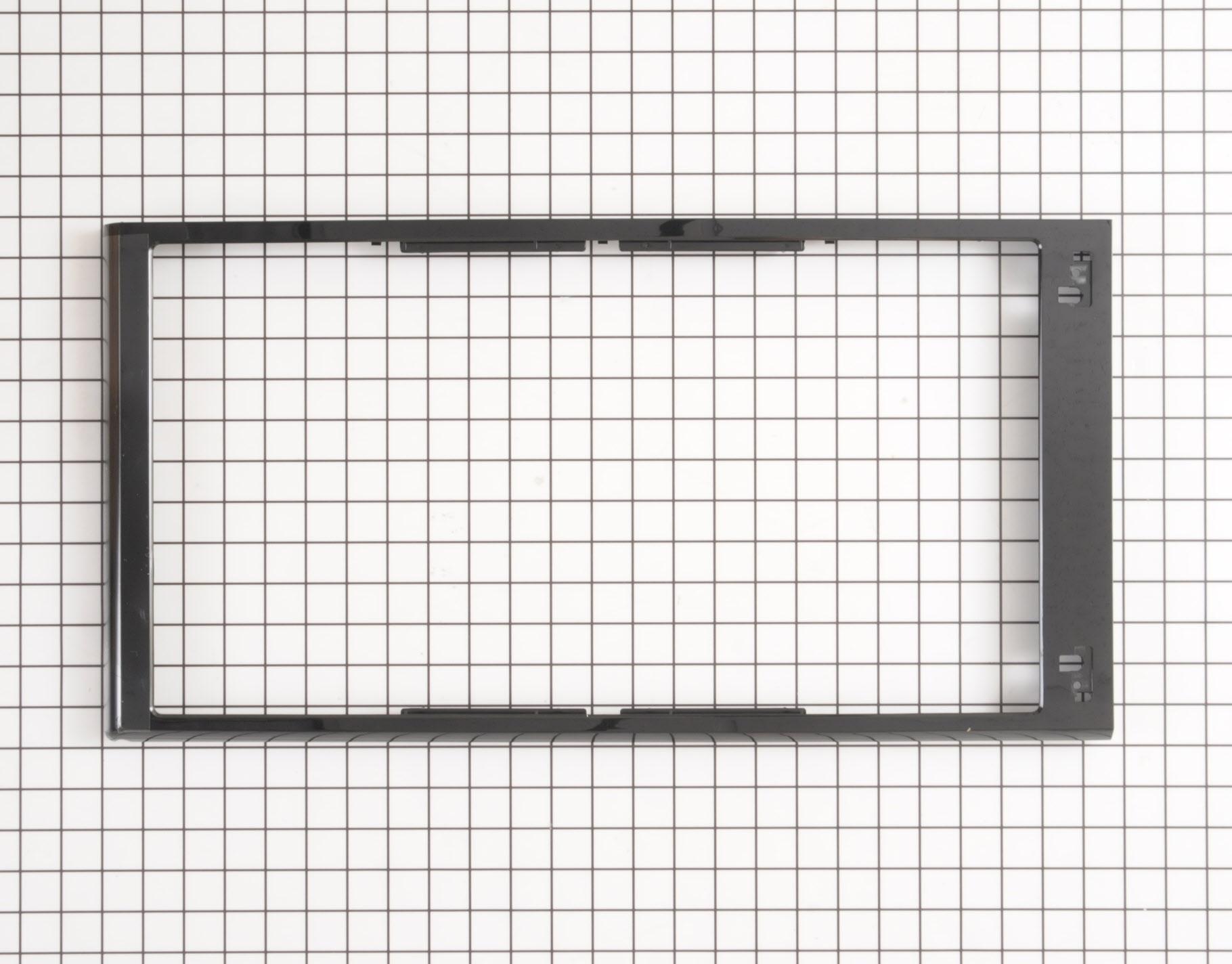 GE Microwave Part # WB55X10476 - Door Frame