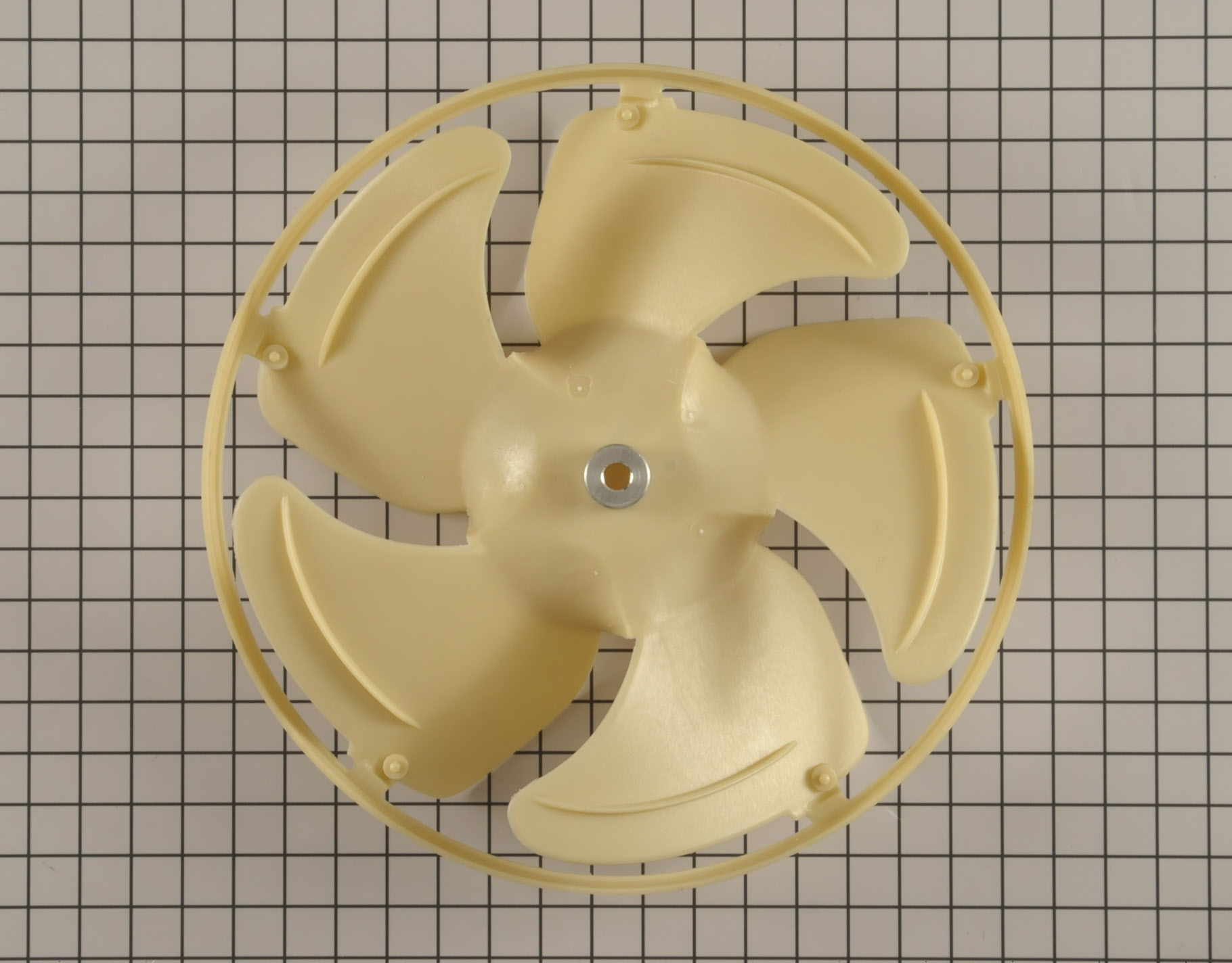 GE Air Conditioner Part # WJ73X10211 - Fan Blade