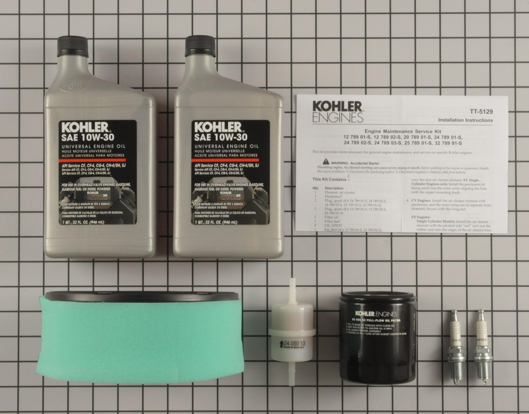 650531320476 UPC - Kohler Command Pro 18 30 Hp Engine Maintenance