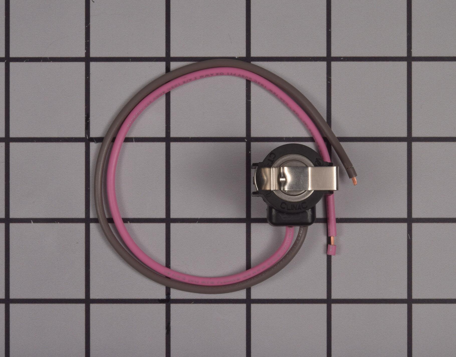 Whirlpool Refrigerator Part # WPW10225581 - Defrost Thermostat