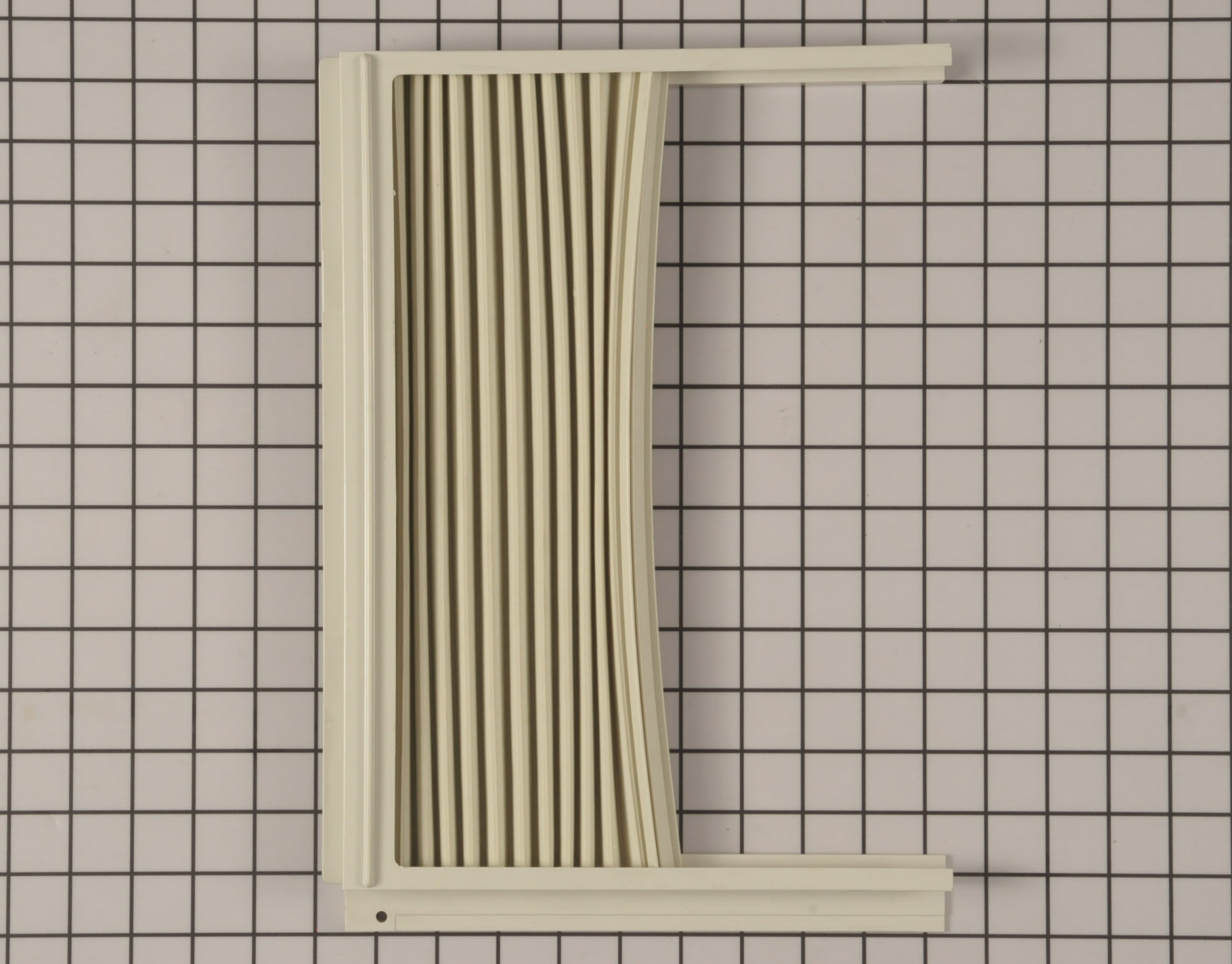 Kenmore Air Conditioner Part # 5304423372 - Window Side Curtain and Frame