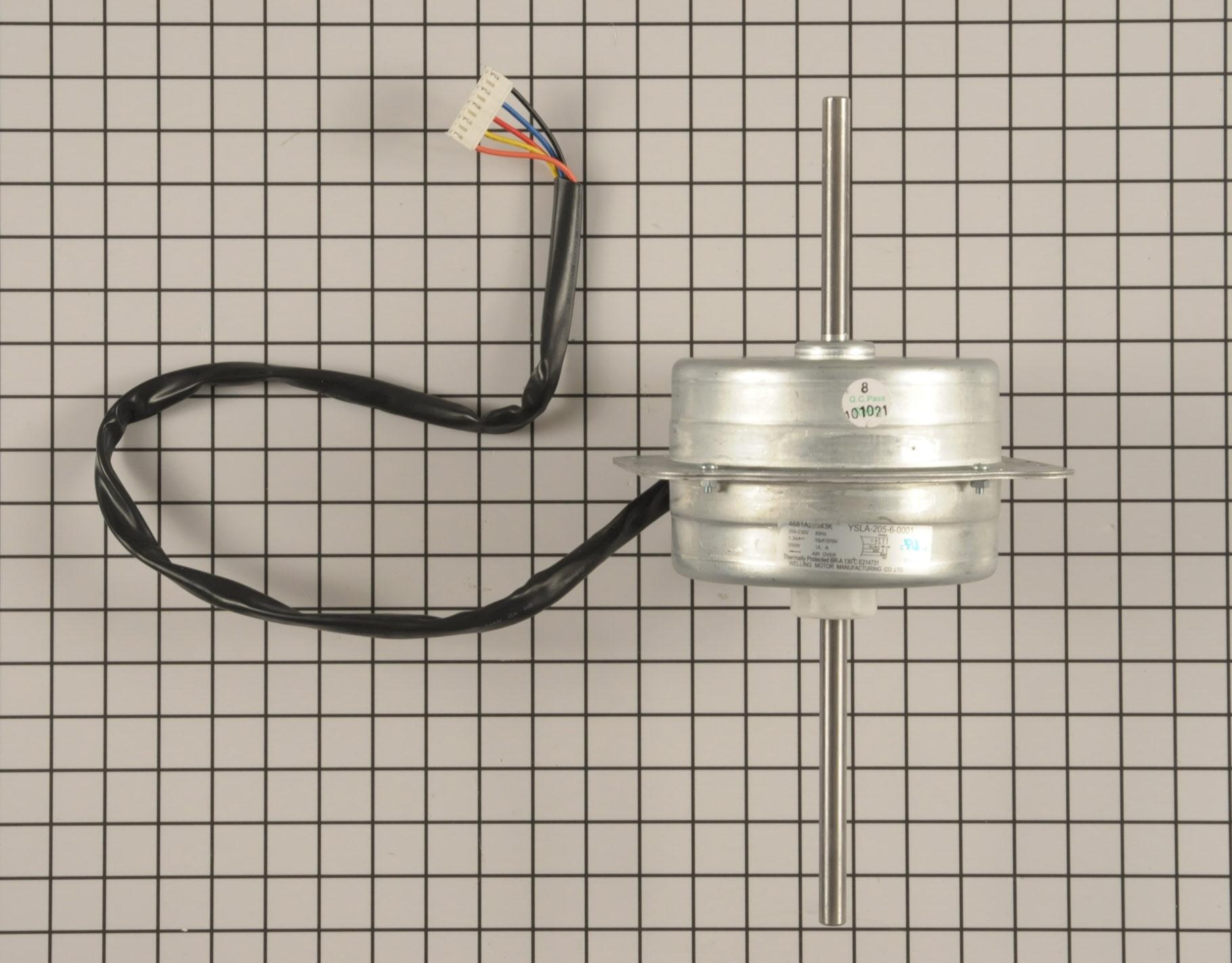 Kenmore Air Conditioner Part # 4681A20043K - Fan Motor
