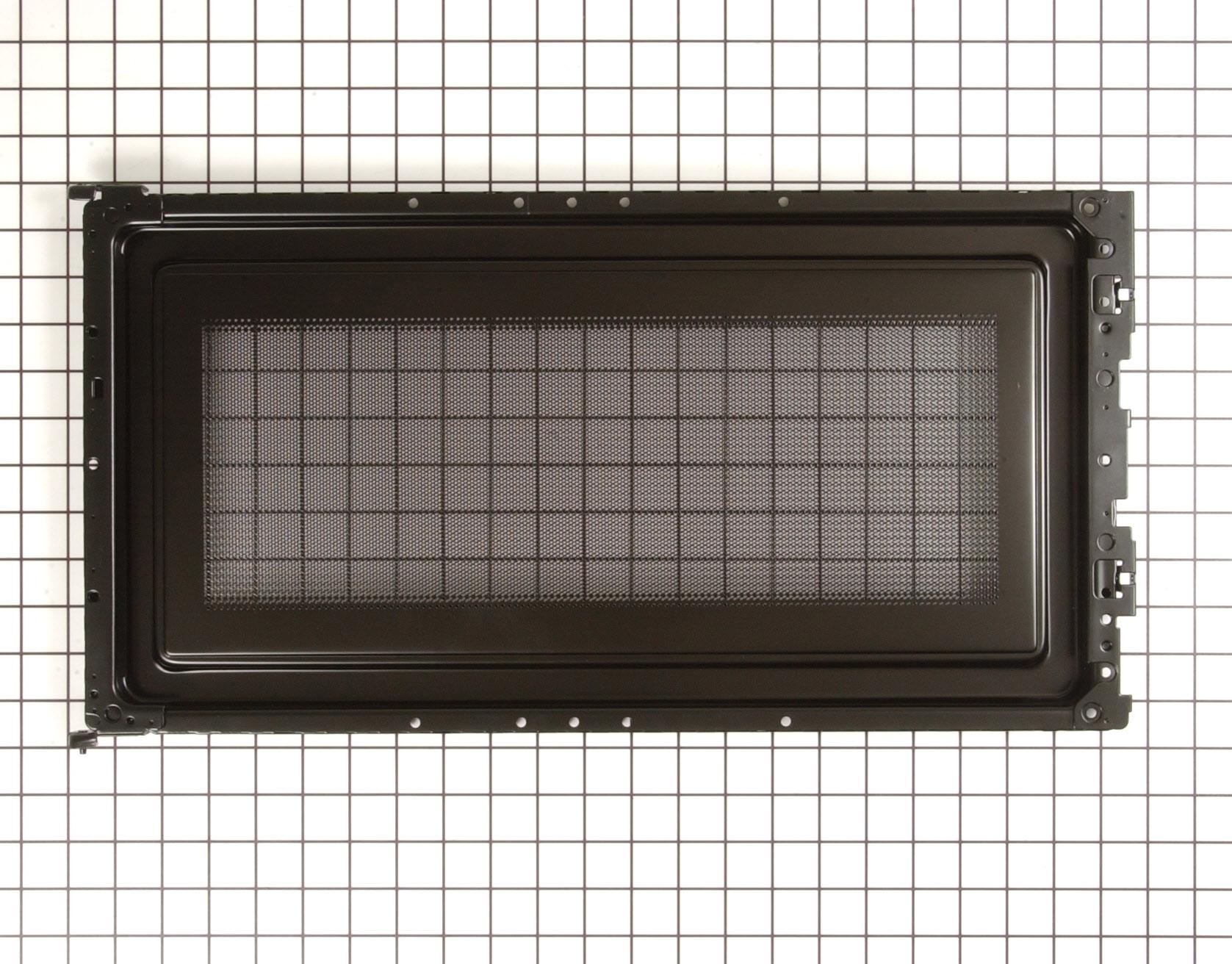 GE Microwave Part # WB55X10531 - Inner Door Panel